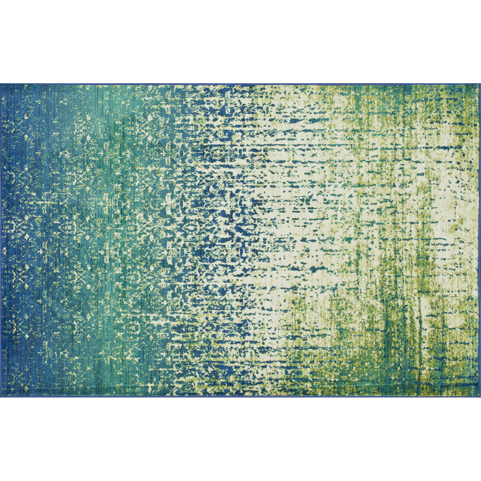 The Conestoga Trading Co. Regina Blue/Green Area Rug