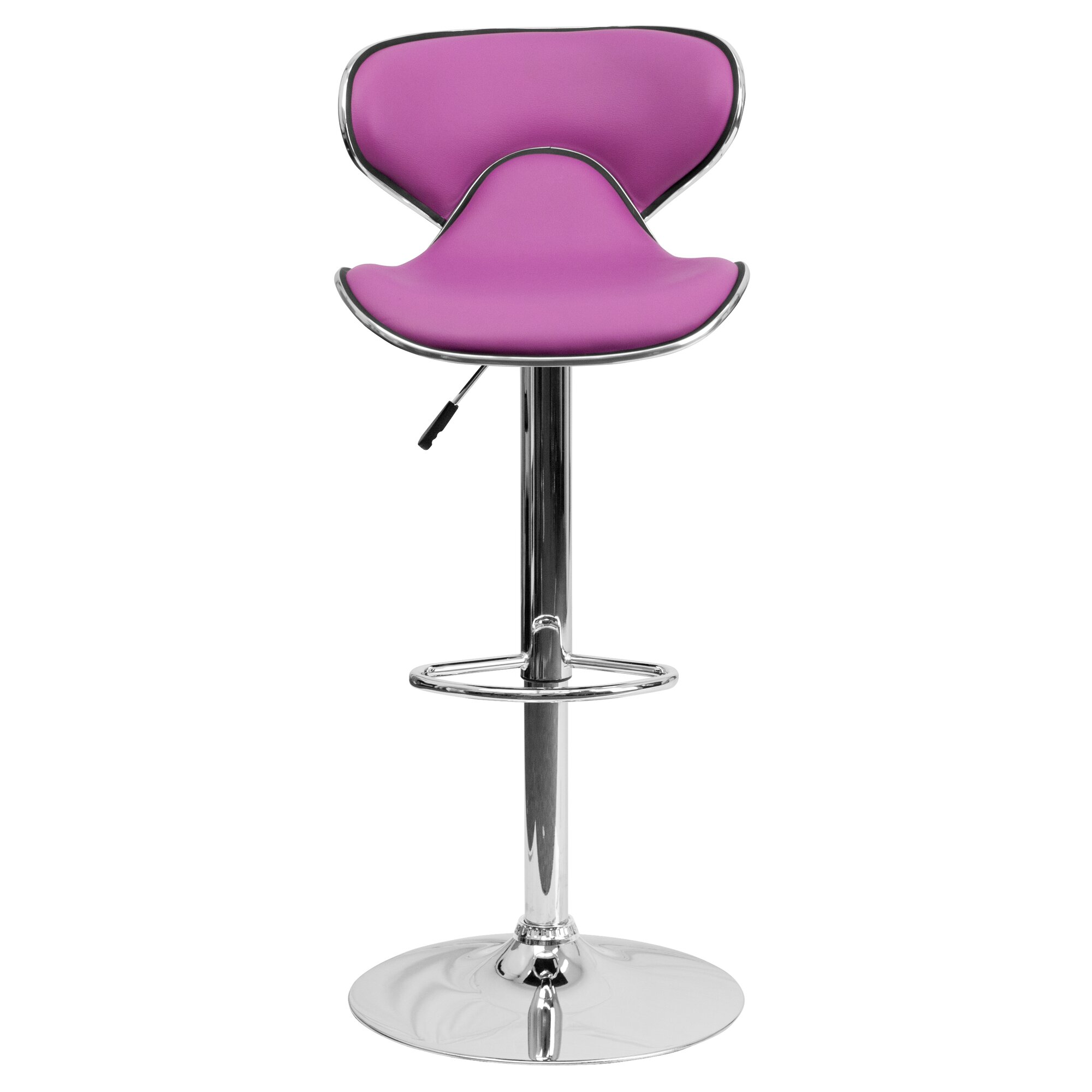 Modern kitchen bar stools - Marlon Adjustable Height Swivel Bar Stool