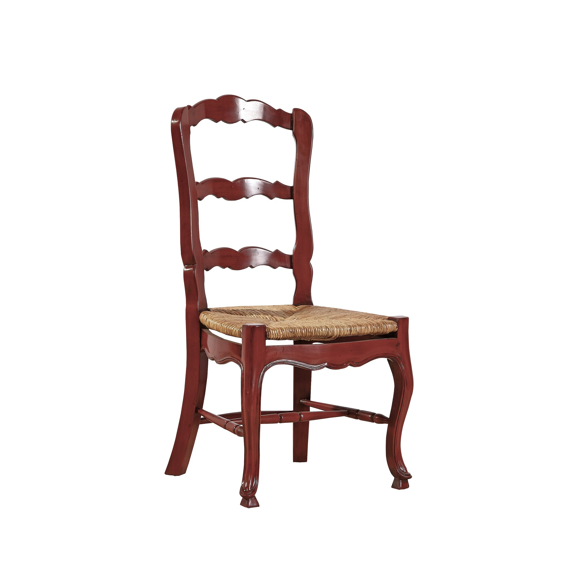 Country Dining Room Ladderback Chairs