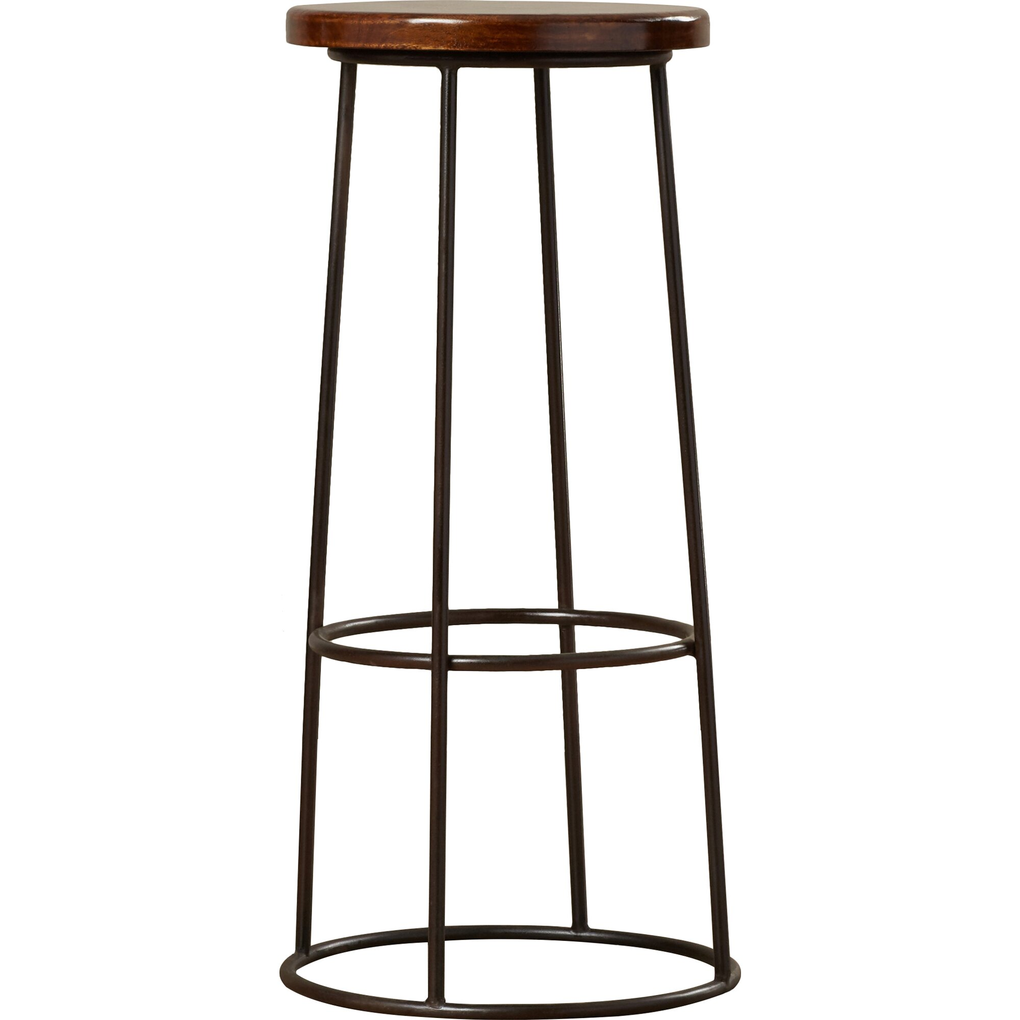 17 Stories Kori 30 Quot Metal Framed Bar Stool Amp Reviews