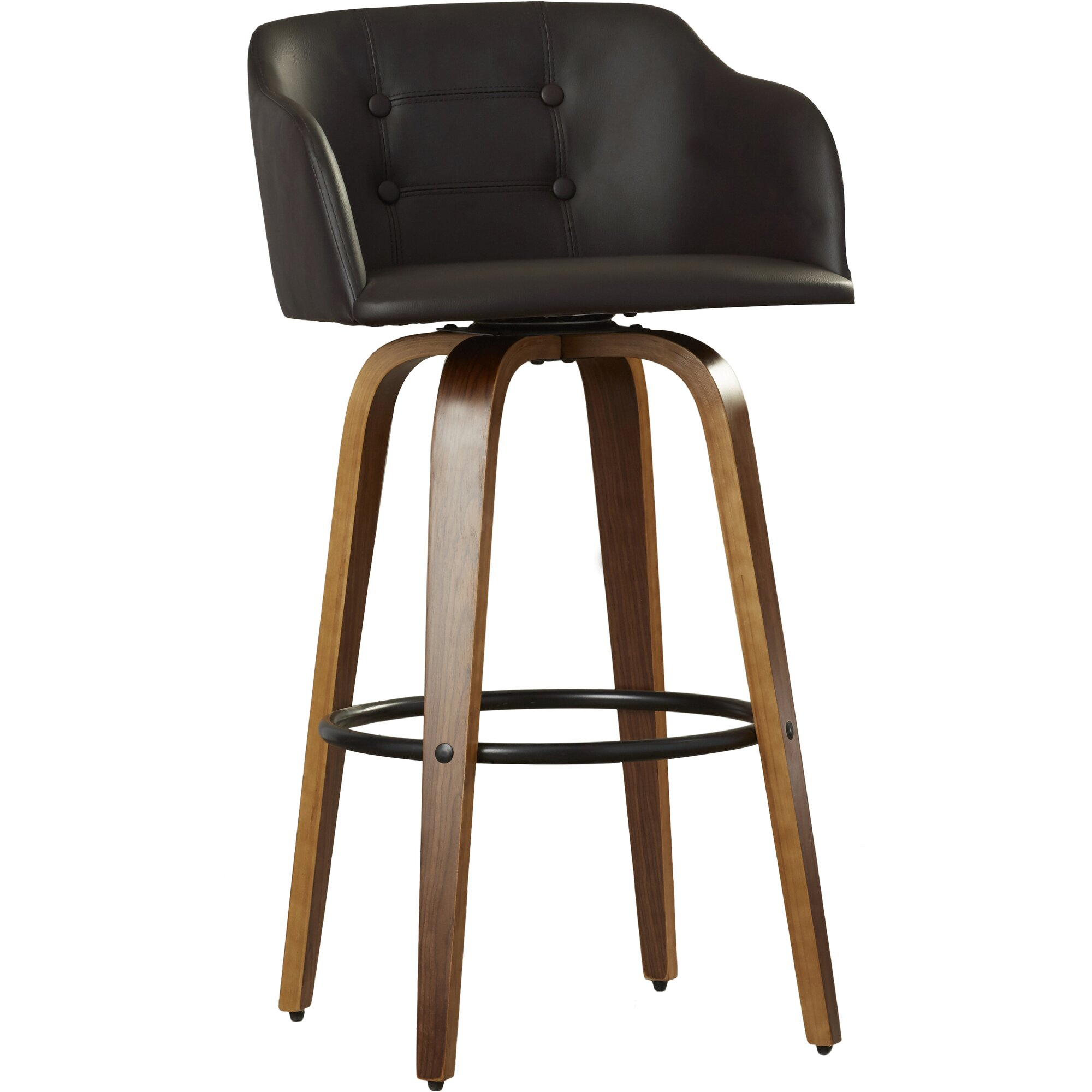 Lucchesi 28 25 Quot Swivel Bar Stool Amp Reviews Allmodern