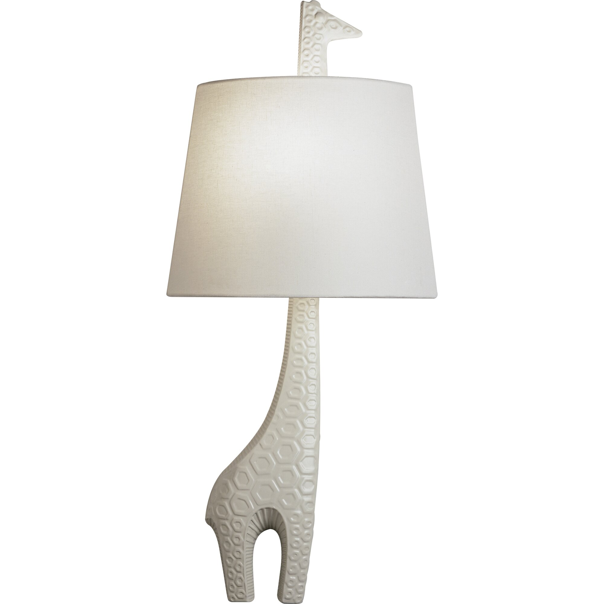 jonathan adler right facing giraffe 1 light wall sconce by jonathan. Black Bedroom Furniture Sets. Home Design Ideas