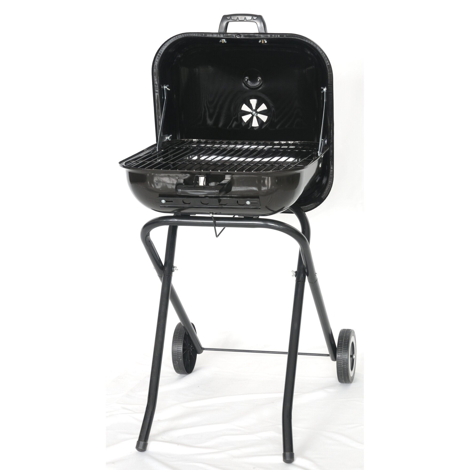 the original outdoor cooker 18 5 the original outdoor cooker charcoal grill reviews wayfair. Black Bedroom Furniture Sets. Home Design Ideas