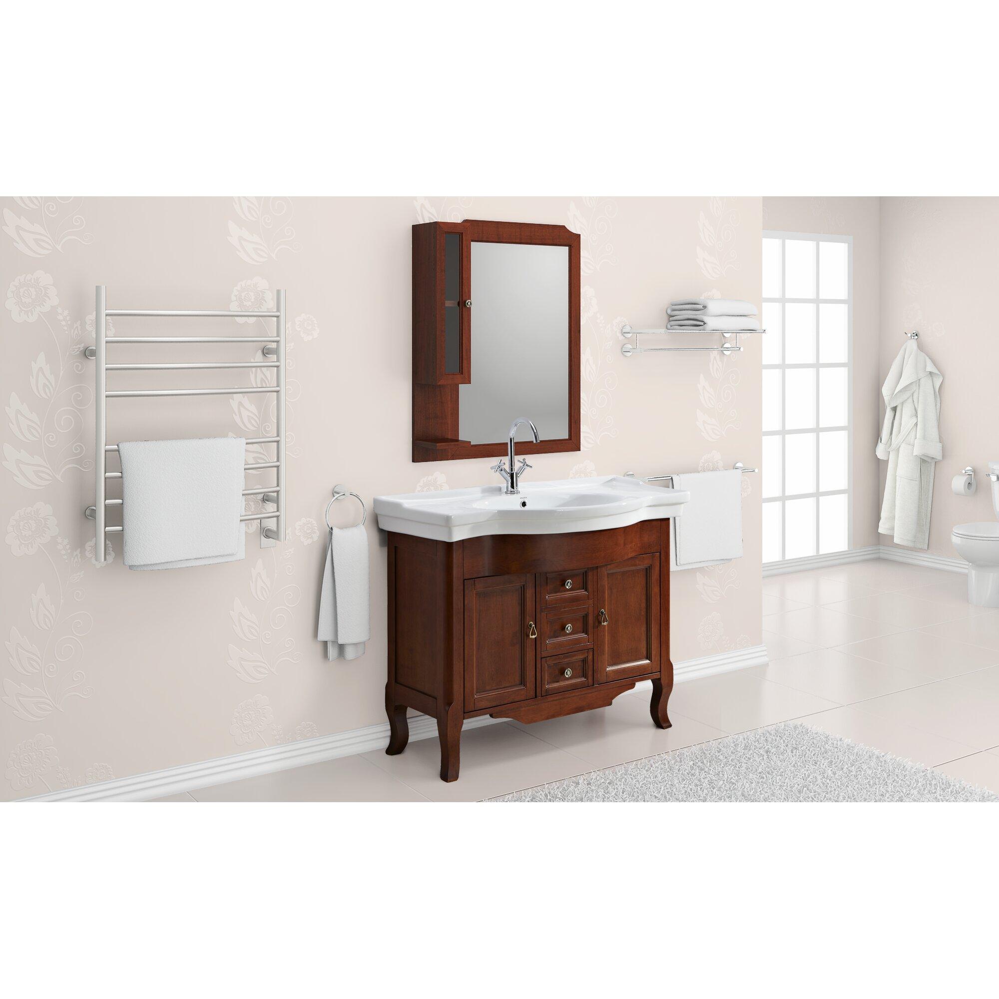 4 Piece Bathroom Accessory Set Ancona 4 Piece Bathroom Hardware Set Reviews Wayfair