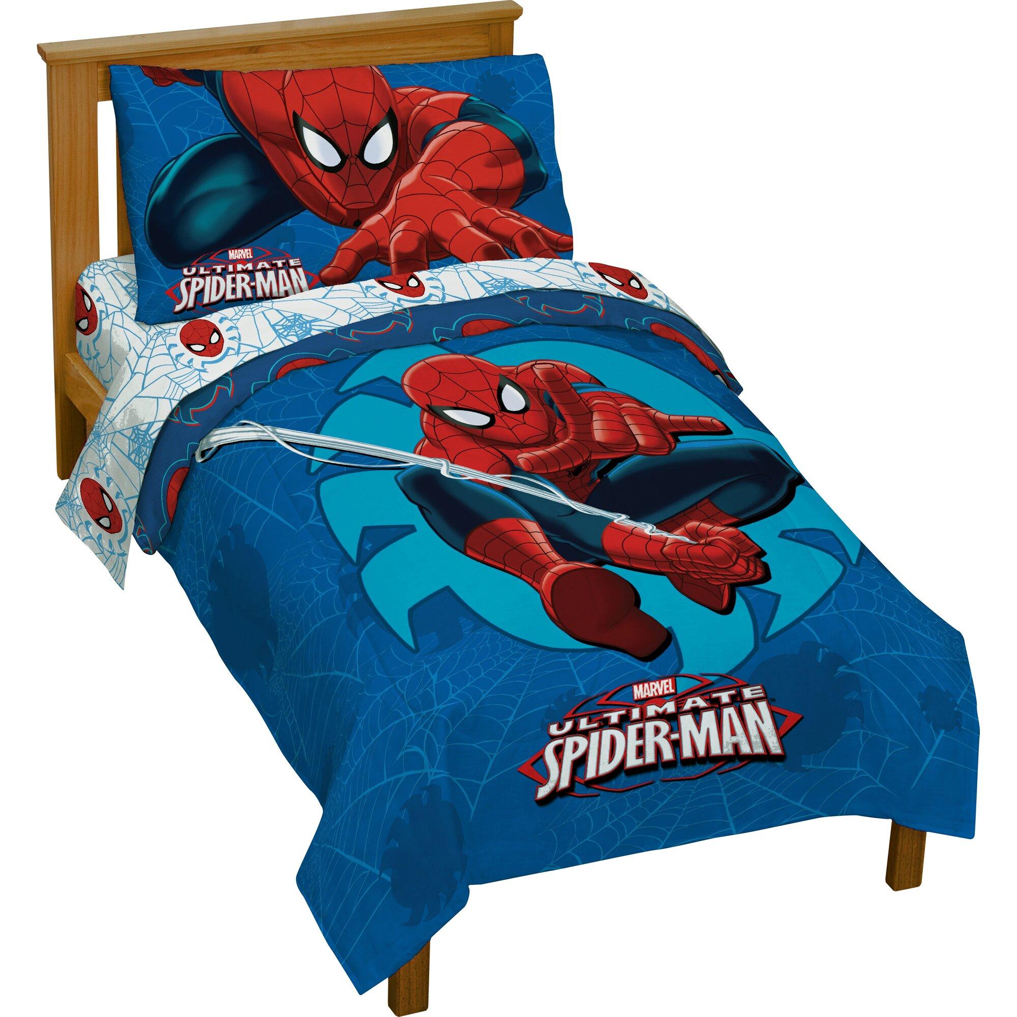 Marvel Spiderman Toddler Bedding Set & Reviews | Wayfair