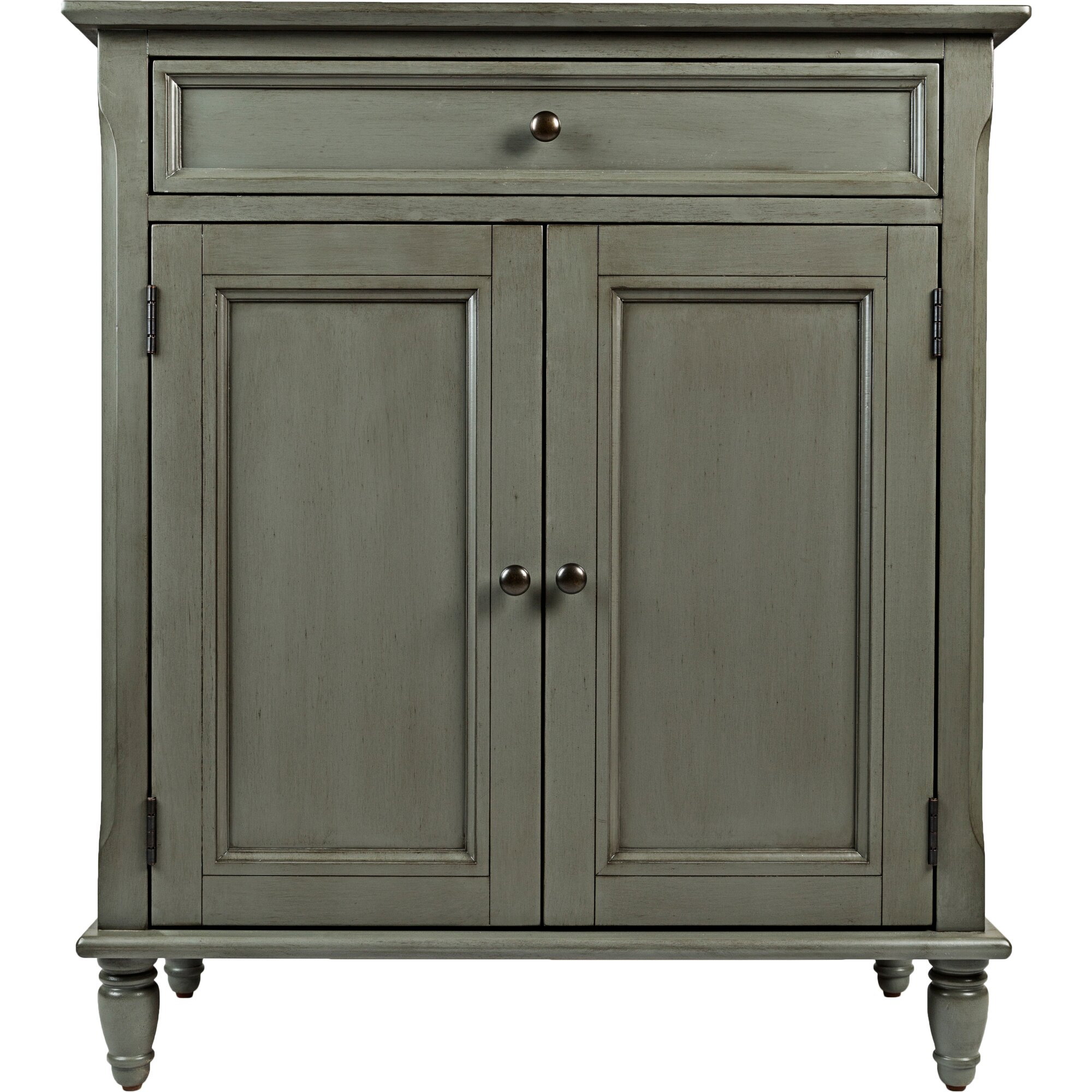Accent cabinet with glass doors - Vera Accent Cabinet