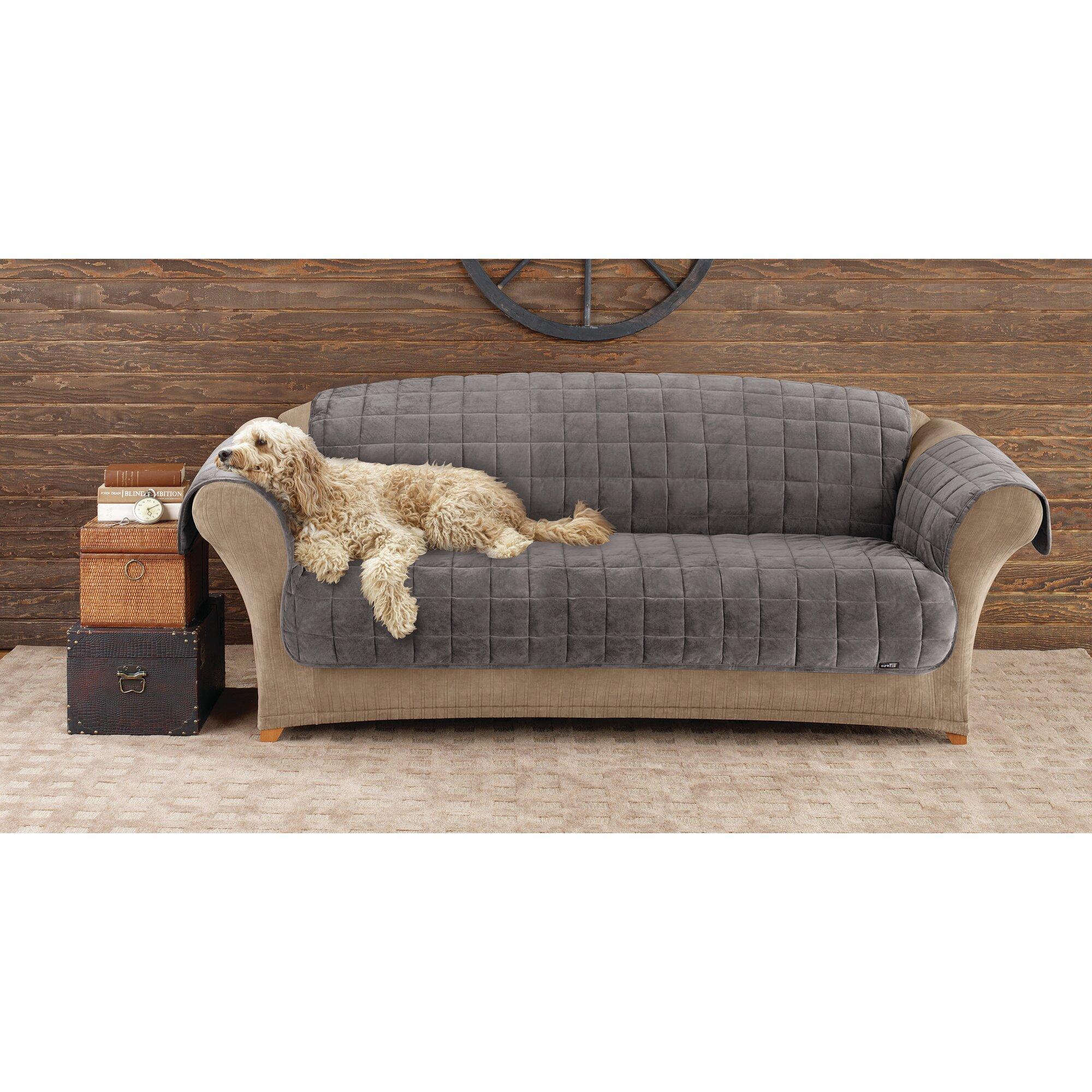 Sure Fit Deluxe Pet Sofa Cover Instasofas