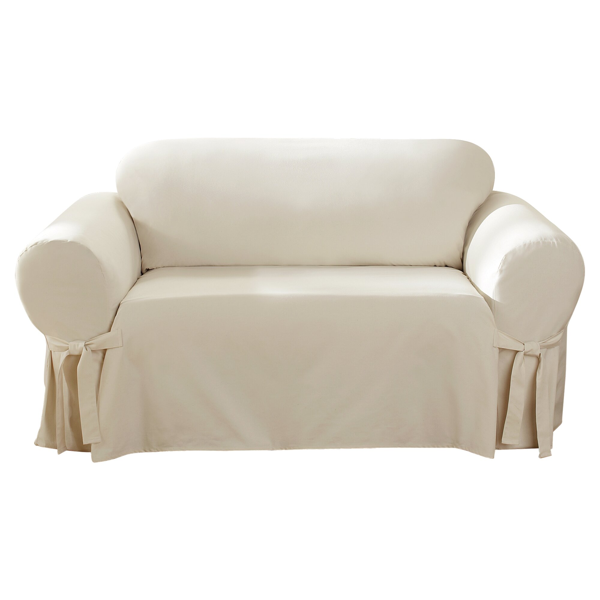 Duck Sofa Sure Fit Heavyweight Cotton Duck One Piece