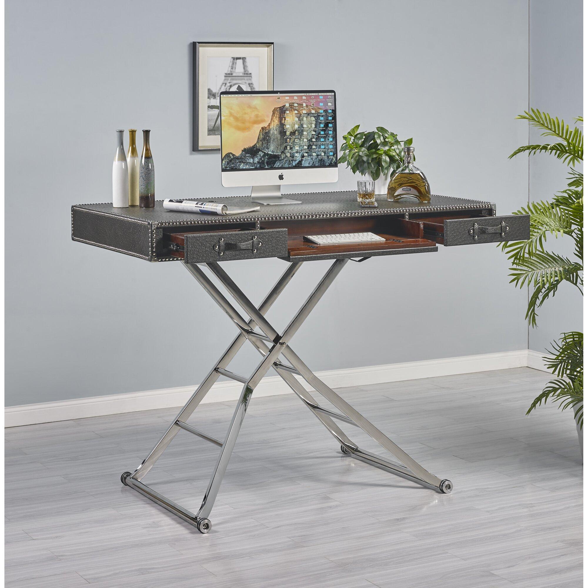 Turnkey Llc Delilah Height Adjustable Writing Desk