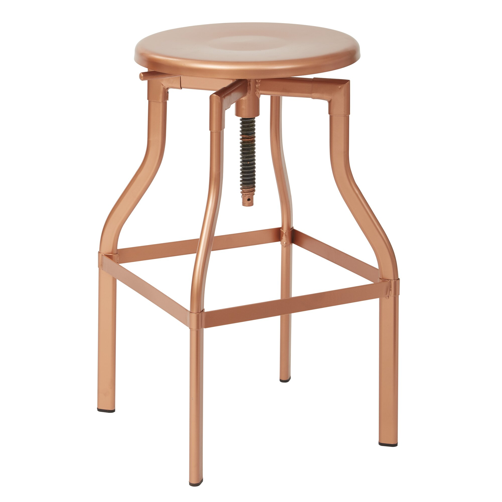 Osp Designs Eastvale Adjustable Height Swivel Bar Stool
