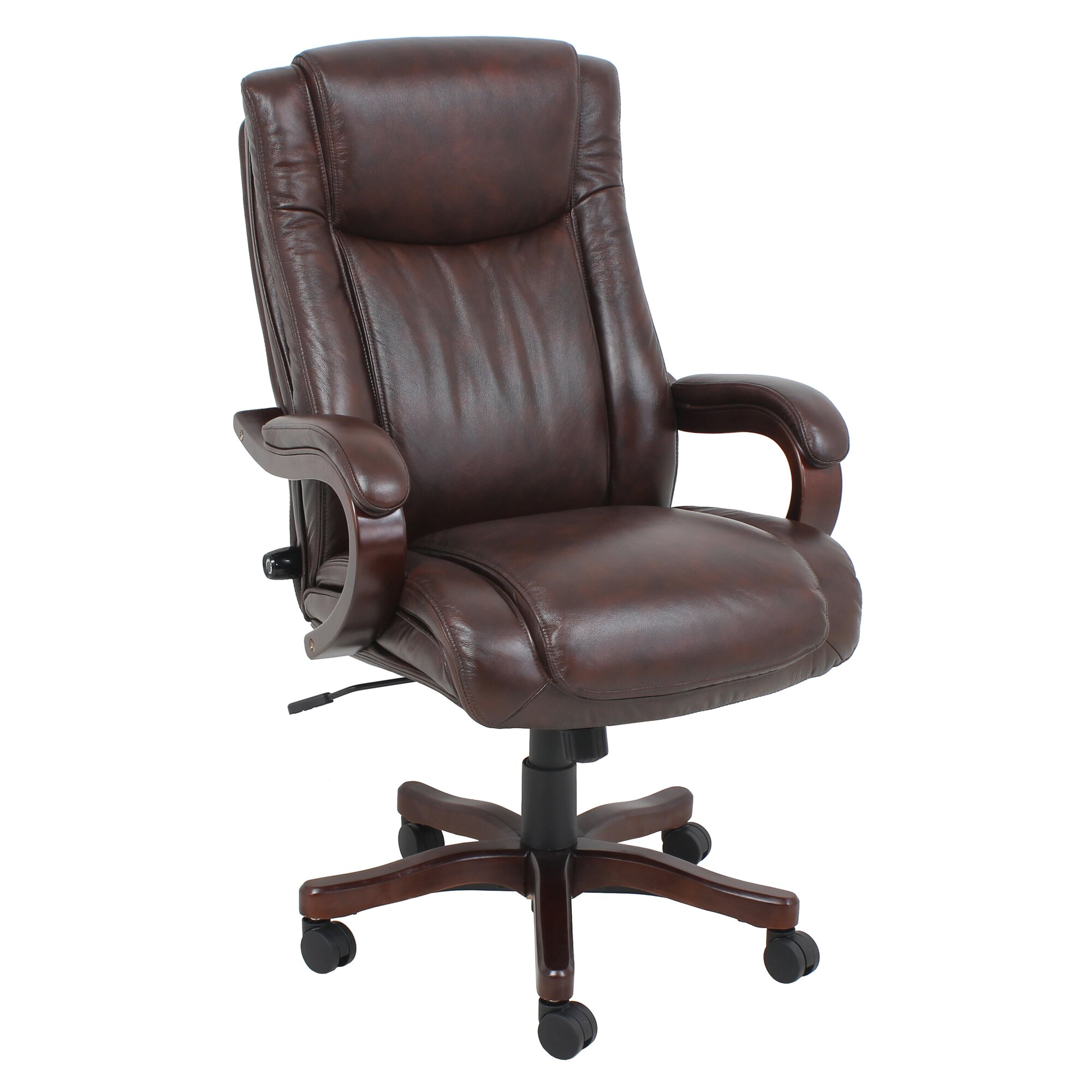 Tan leather office chair - Leather Executive Chair