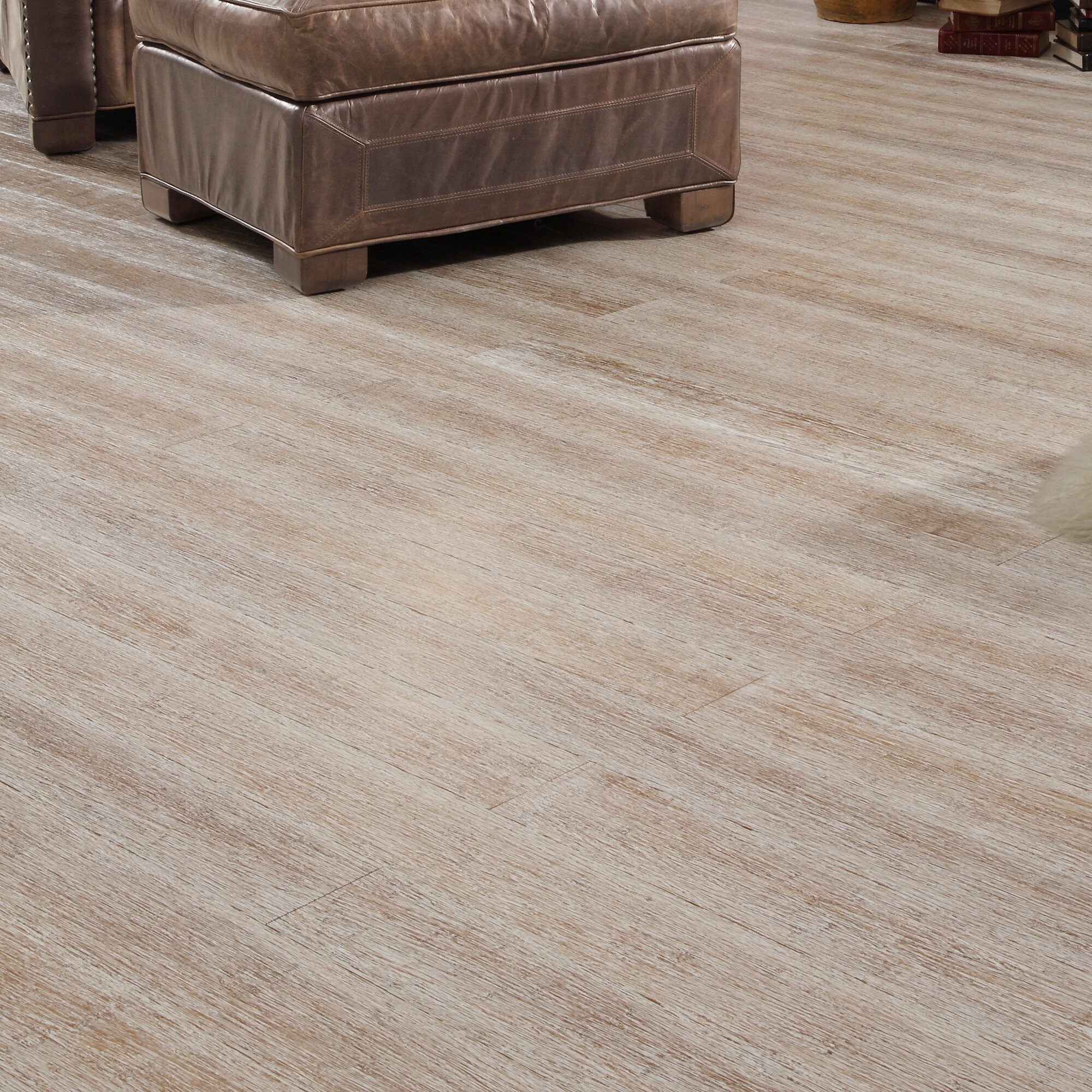 3 4 Hardwood Flooring bruce plymouth brown hickory 34 in thick x 2 14 in wide x random length solid hardwood flooring 20 sq ft case c0688 the home depot 4 34 Solid Strand Woven Bamboo Flooring In Winter Wheat