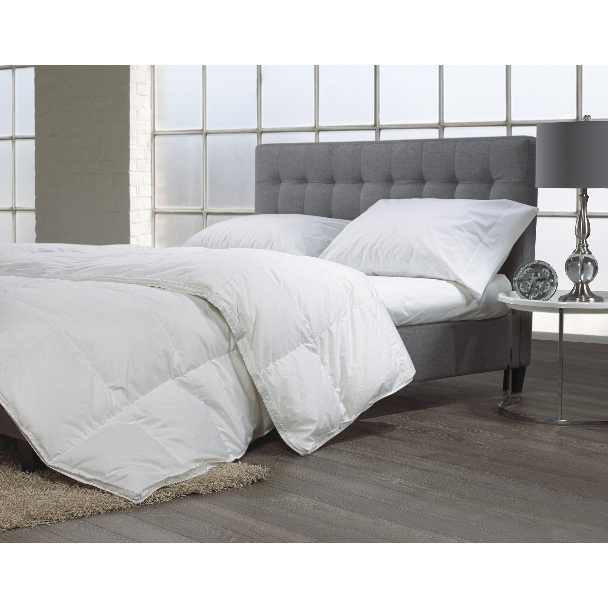 Westex Luxury Goose Down Comforter Reviews Wayfair