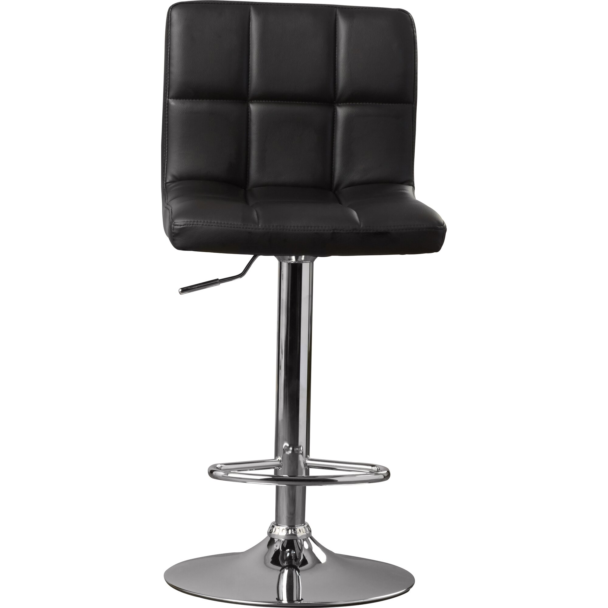 Latitude Run Andres Adjustable Height Swivel Bar Stool