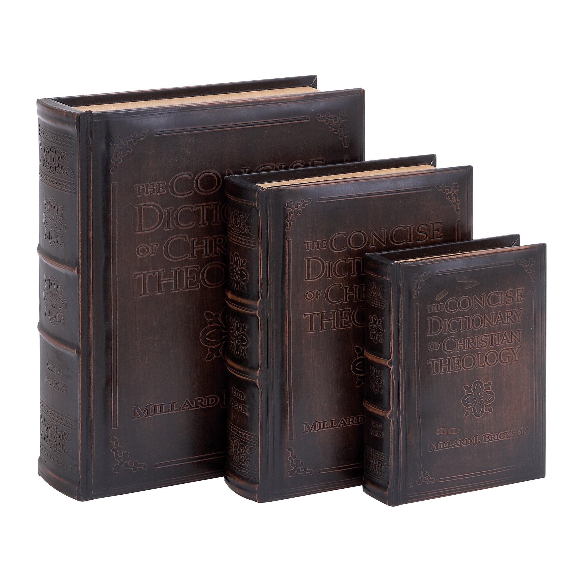 piece decorative box set  reviews  birch lane -  piece decorative box set