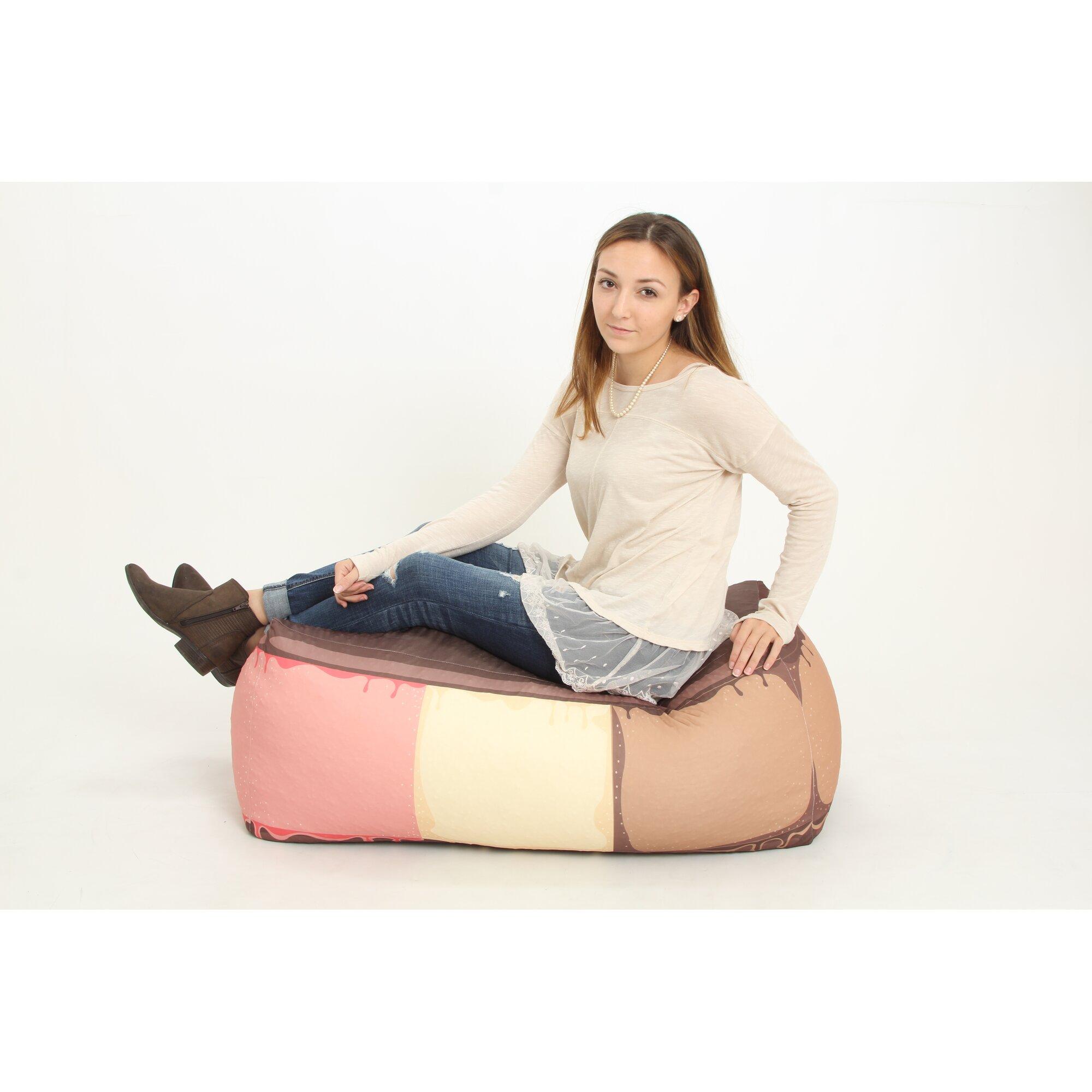 Wow Works Llc Ice Cream Sandwich Bean Bag Chair Wayfair