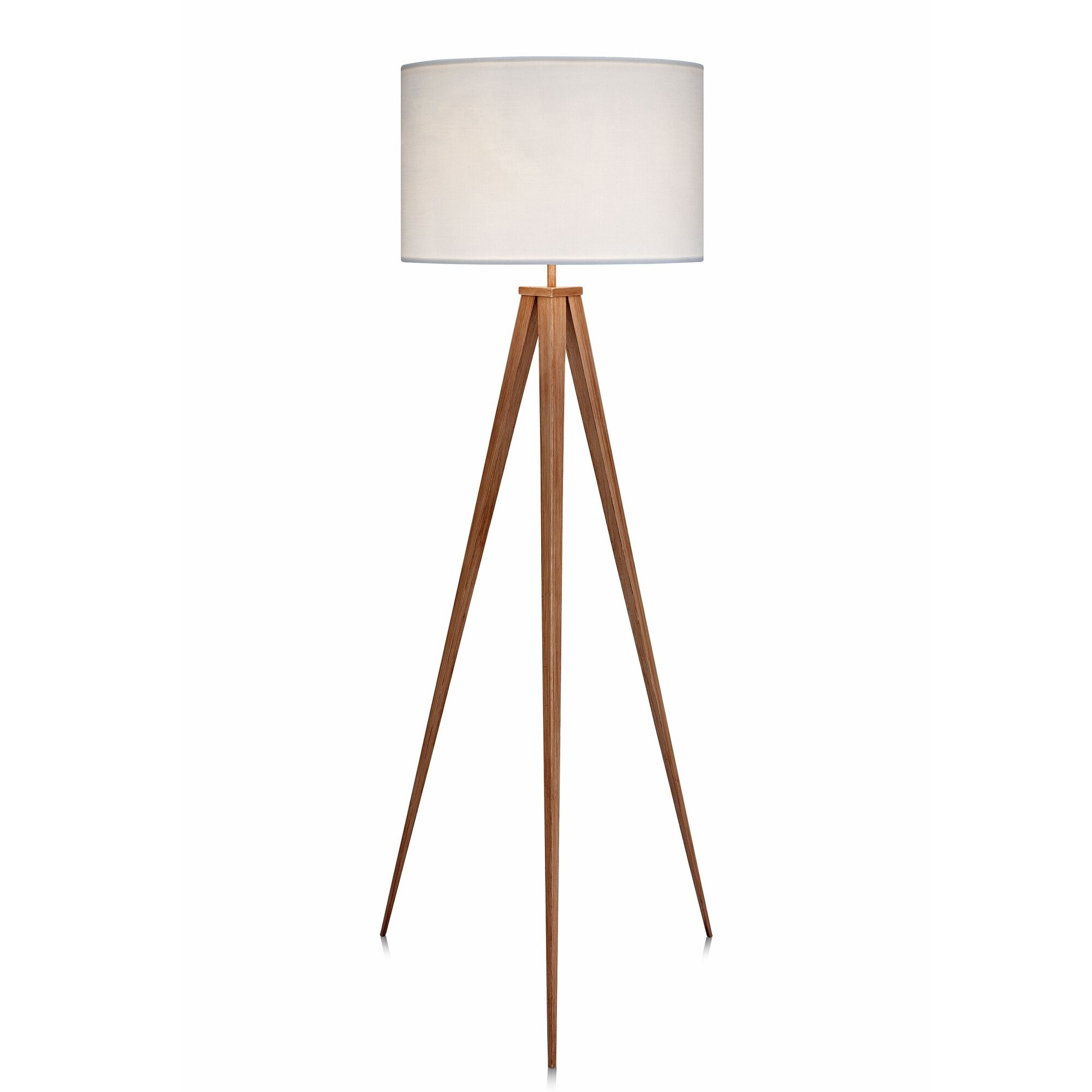 "VERSANORA Romanza 60.23"" Tripod Floor Lamp & Reviews 