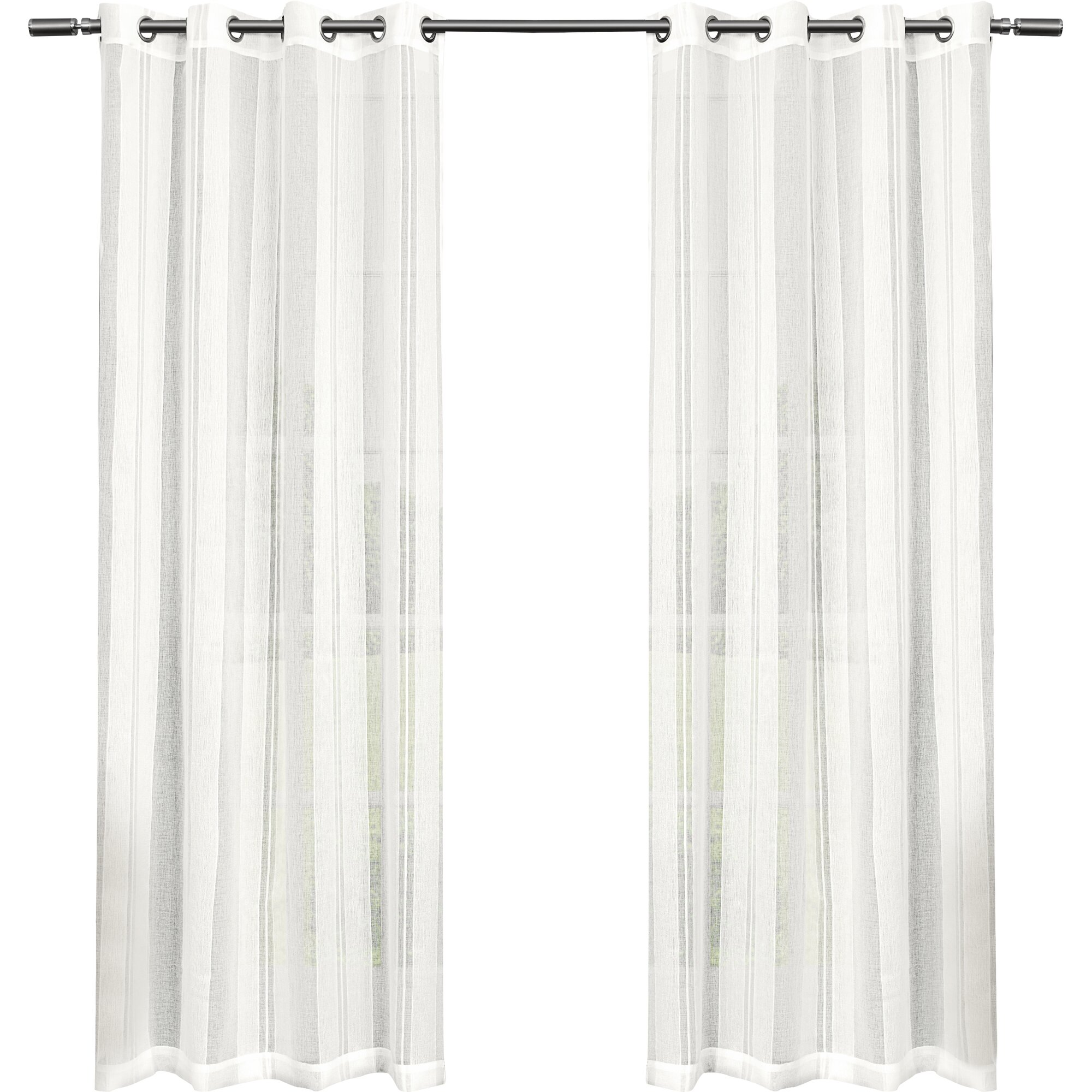 Grommet curtains pattern grommet curtain single - Bird Curtain Panels