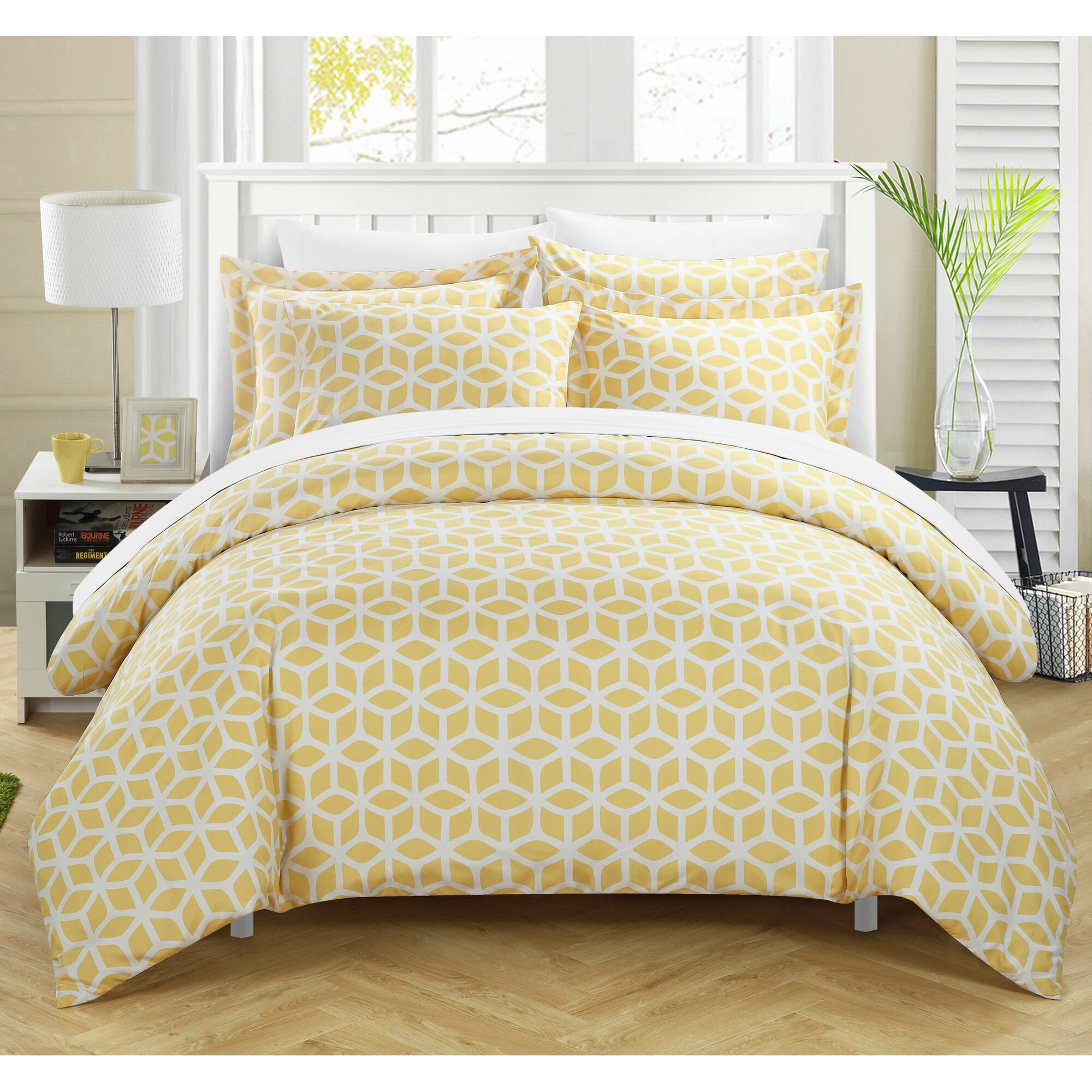 Yellow Duvet Cover Sets Sweetgalas
