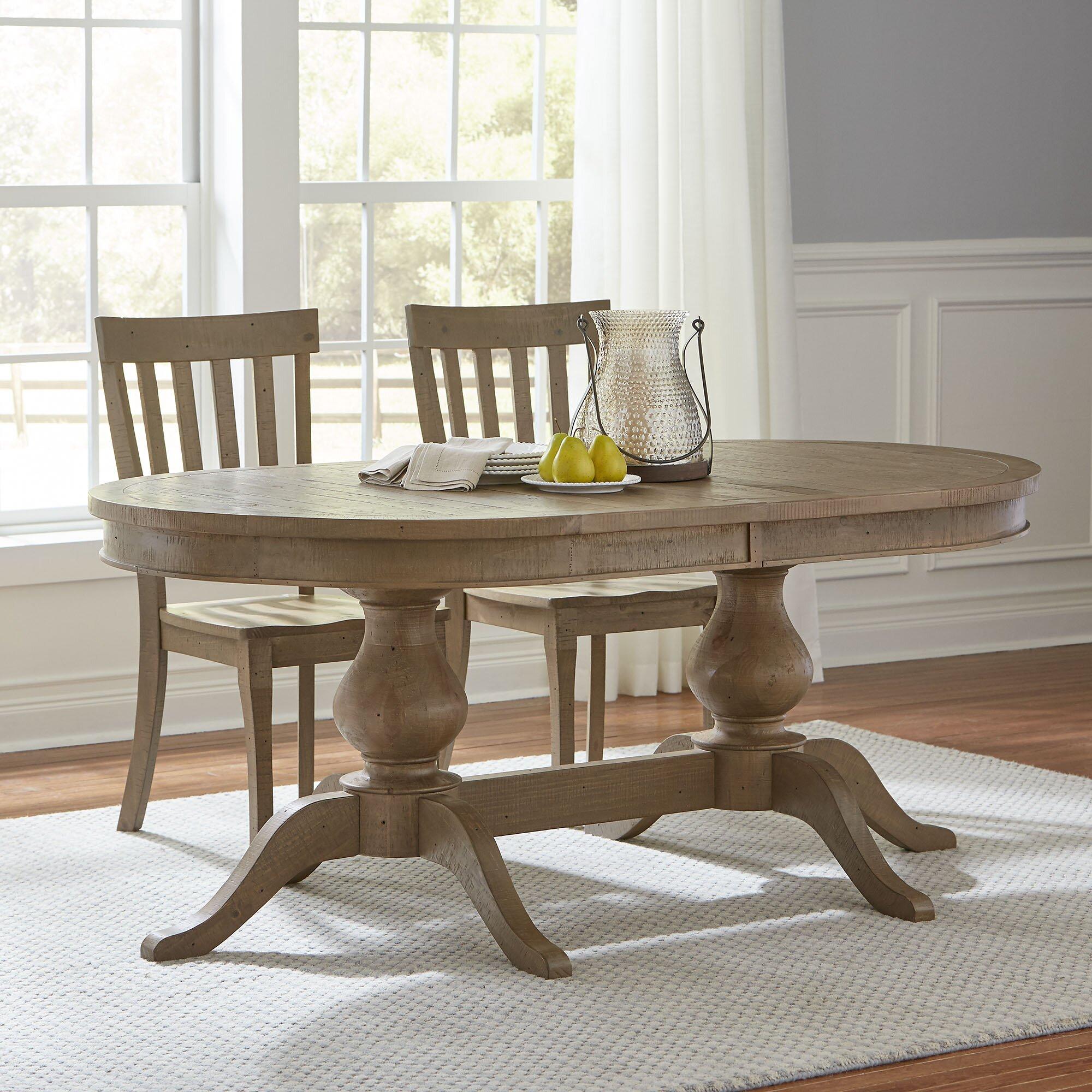 Birch Lane Rollins Extending Dining Table: Birch Lane™ Seneca Extendable Dining Table & Reviews