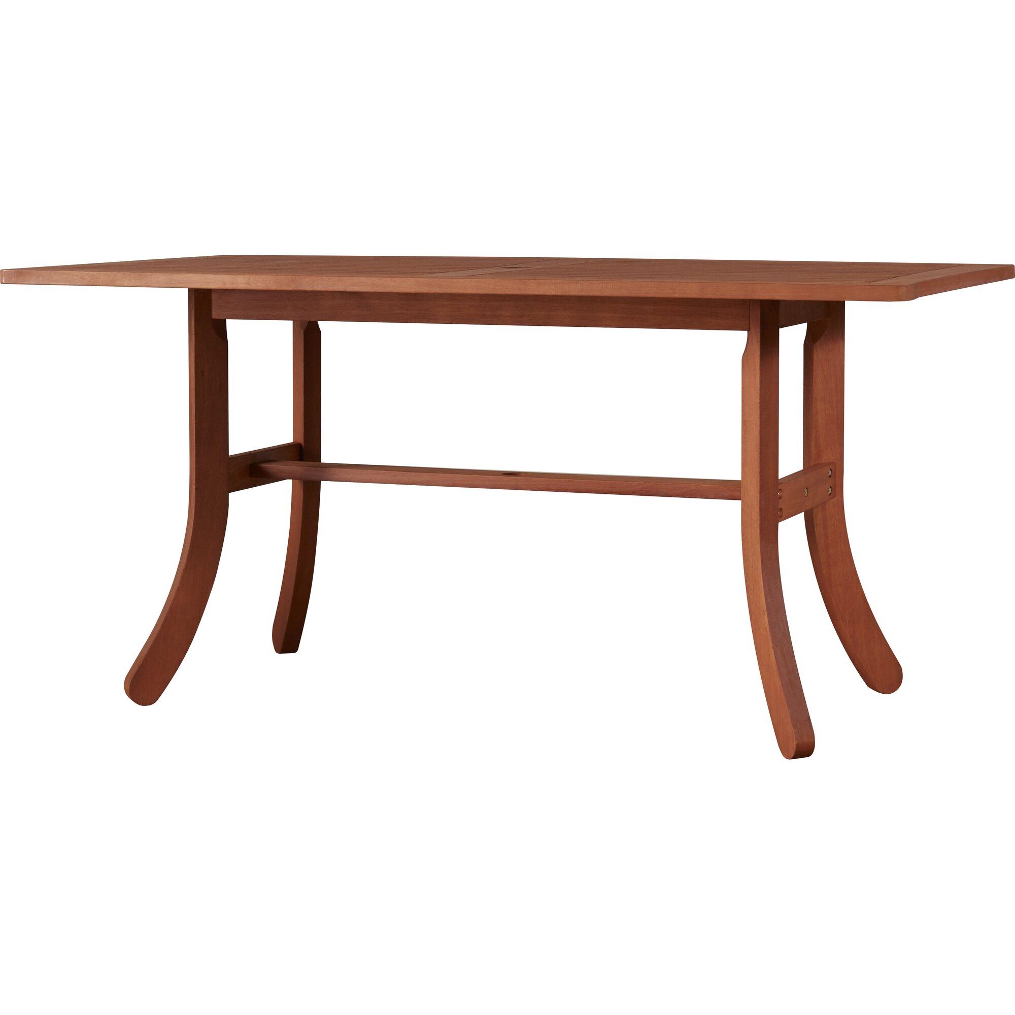 Annie Eucalyptus Dining Table u0026 Reviews : Joss u0026 Main