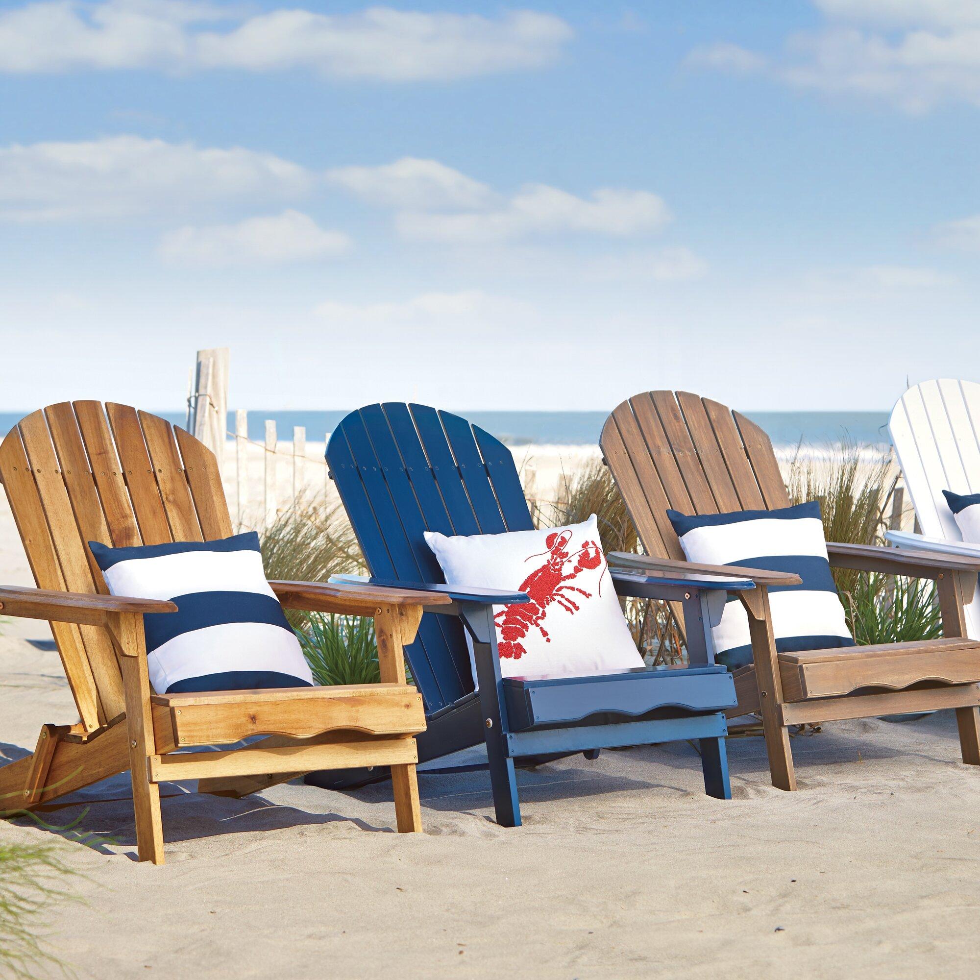 Birch Lane Ridgeline Foldable Adirondack Chair Amp Reviews