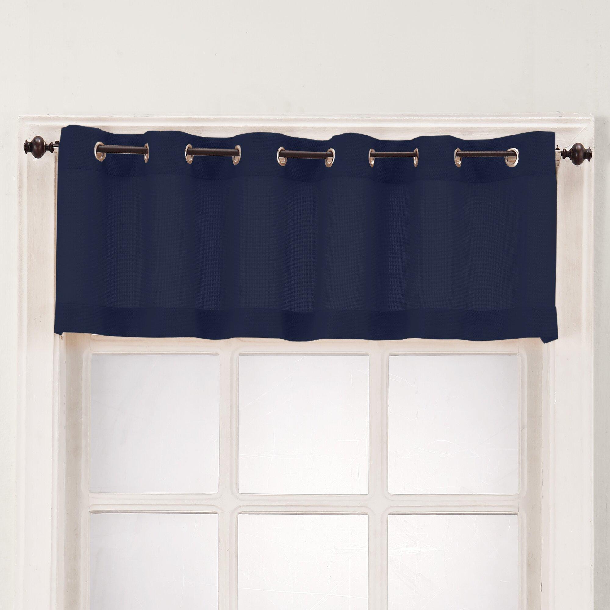 Kitchen Wood Valance: No. 918 Montego Casual Textured Kitchen Curtain Valance