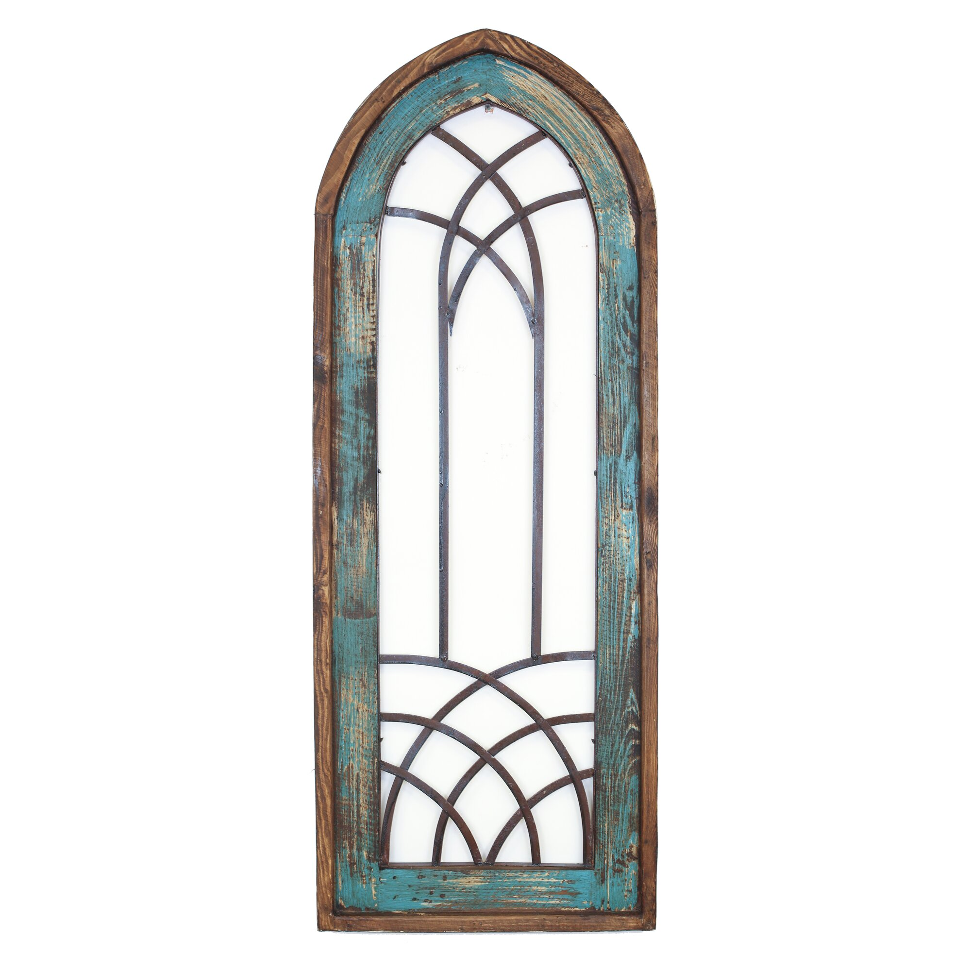 Myamigosimports valeria architectural window wall decor for Window arch wall decor
