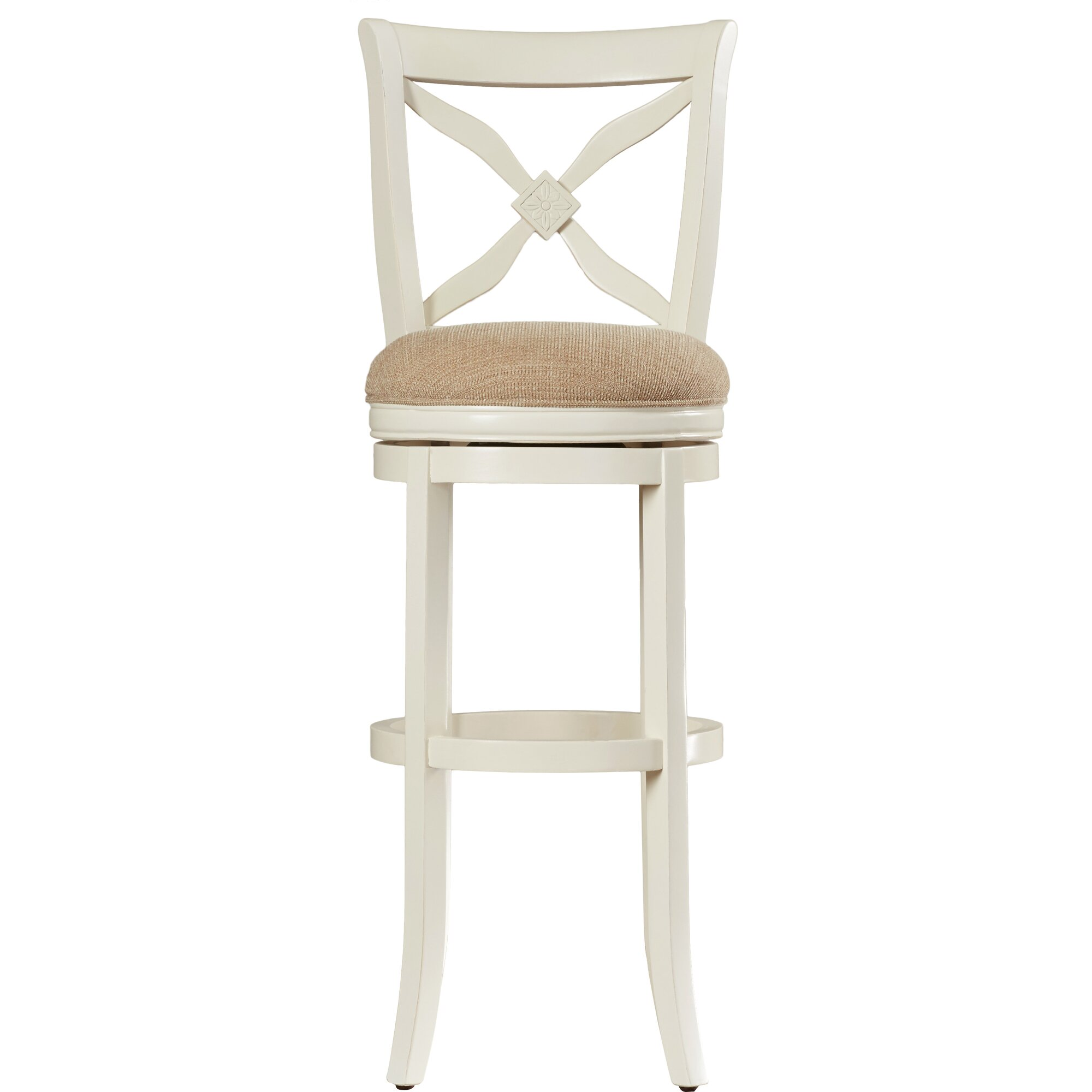 Lark Manor Nasturtium 34 Quot Swivel Bar Stool Amp Reviews Wayfair