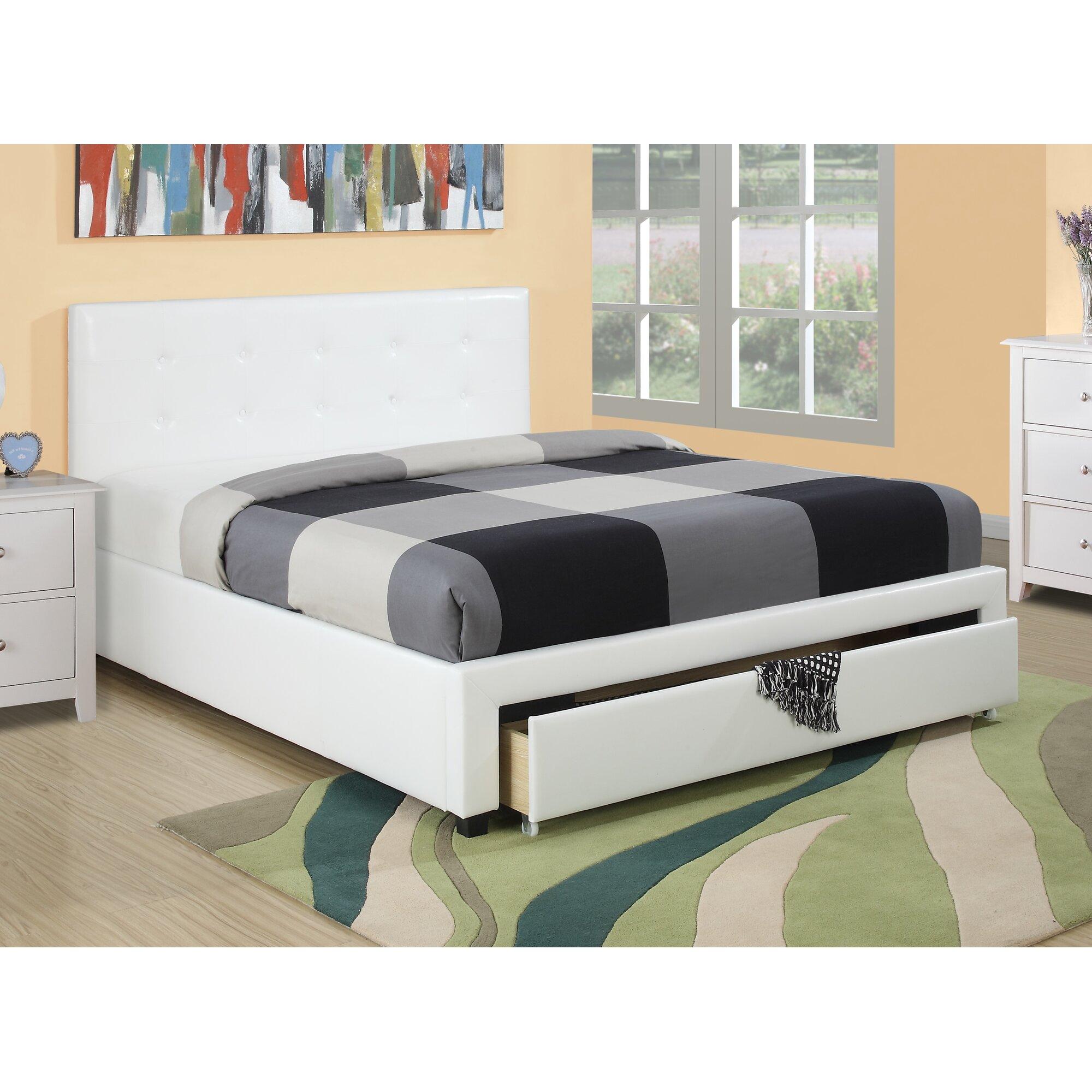 Room and board platform bed - Valhalla Upholstered Platform Bed