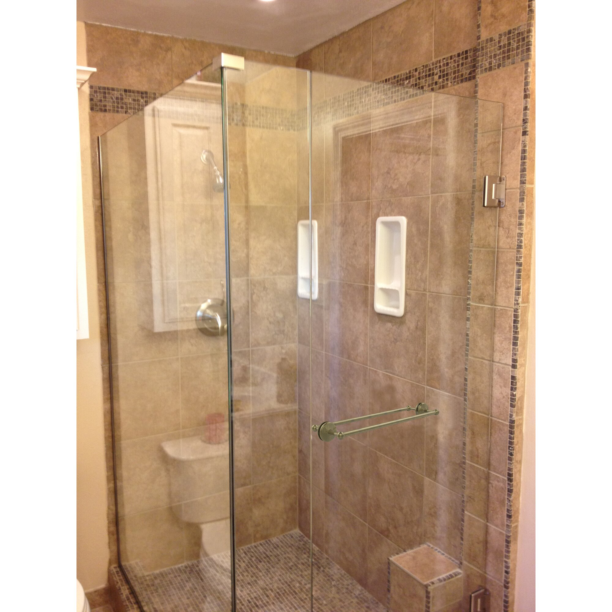 Allied Brass Monte Carlo Shower Door Wall Mounted Towel ...