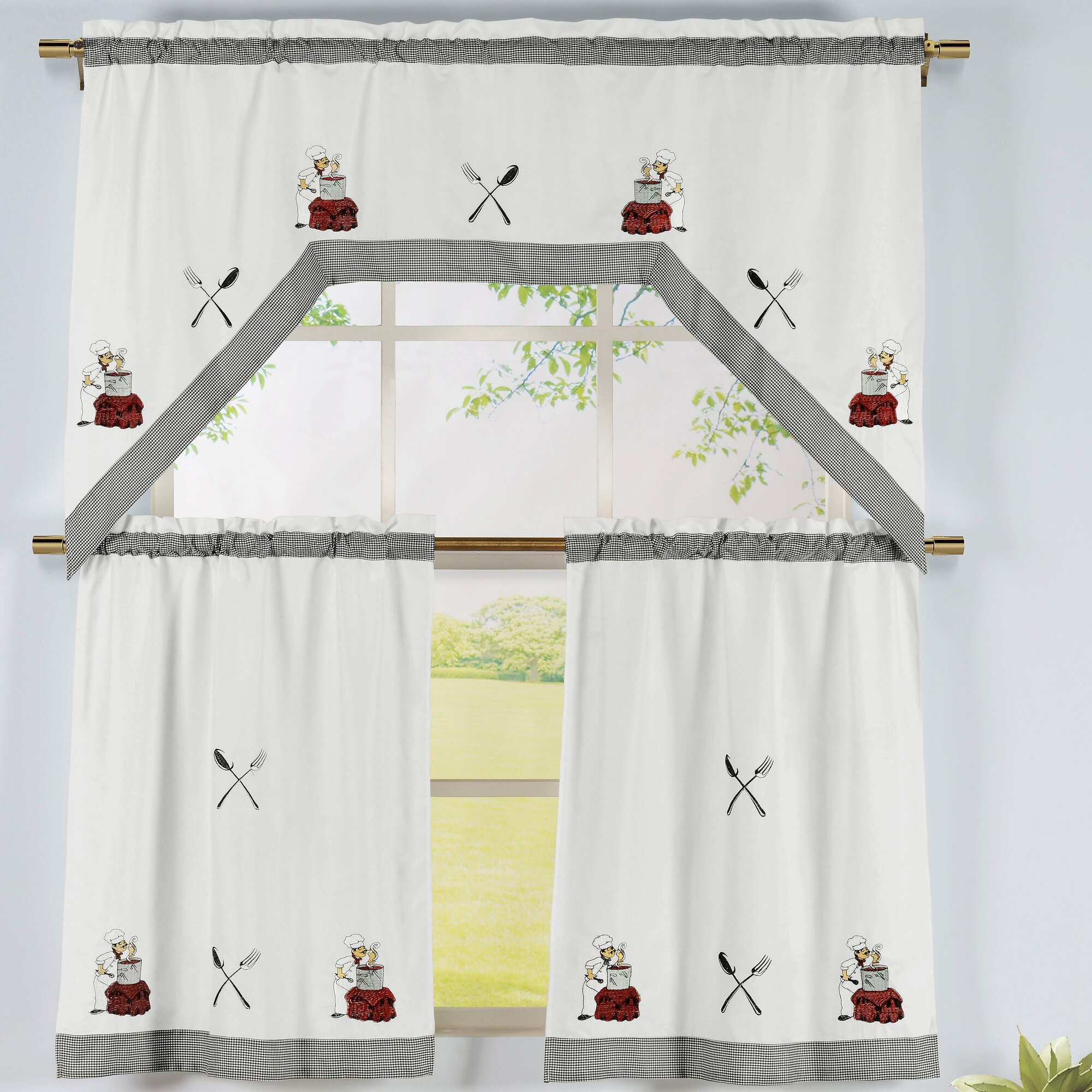 Gallery of stunning custom window treatments custom windows and - Kitchen Valance Image Of Kitchen Valance Curtains