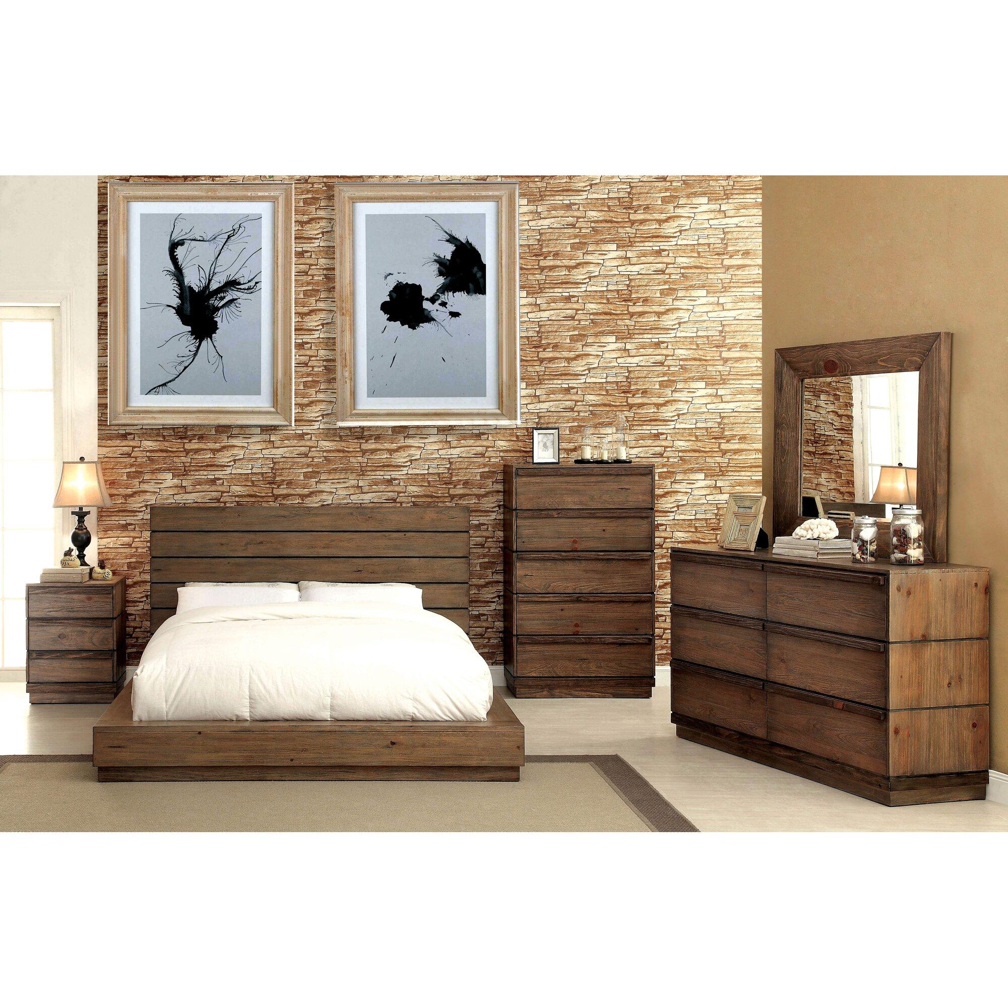 Loon Peak Elliston Platform Customizable Bedroom Set Reviews