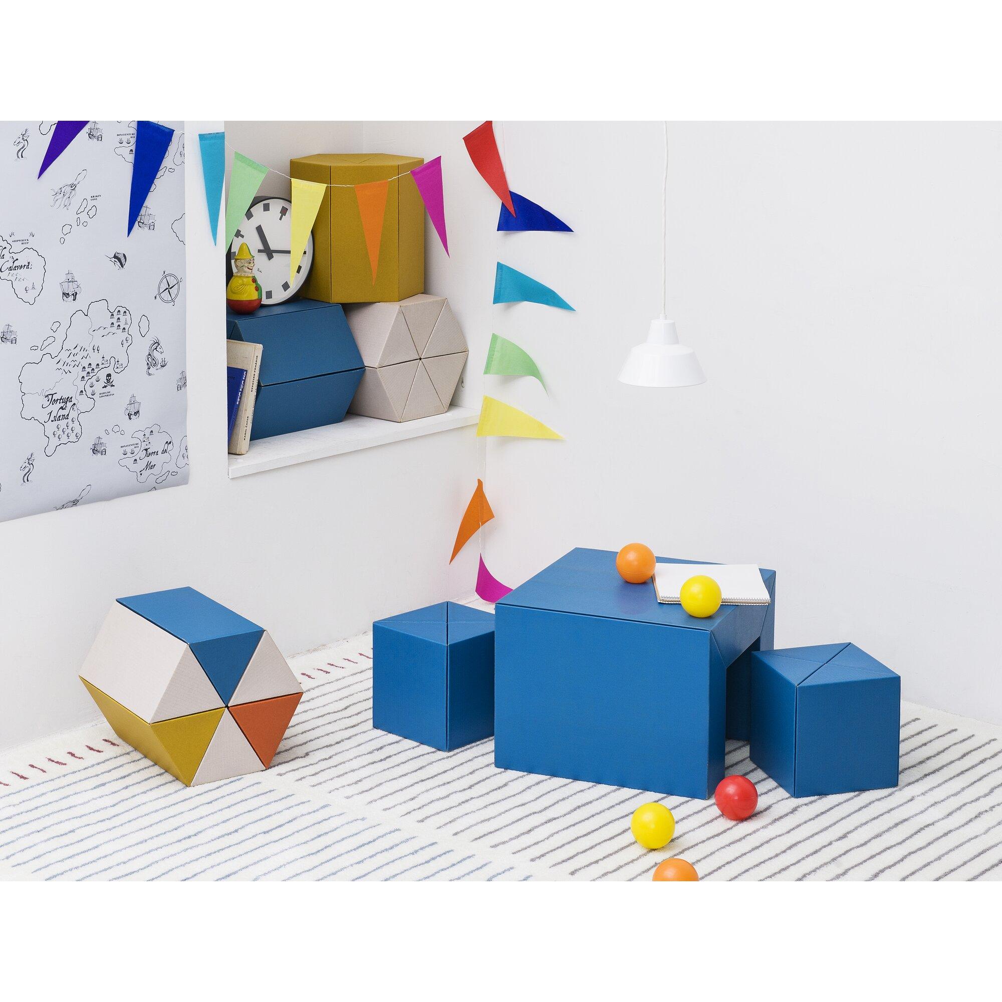 Metrocs 3 tlg quadratisches kindertisch und stuhl set - Kindertisch und stuhle set ...