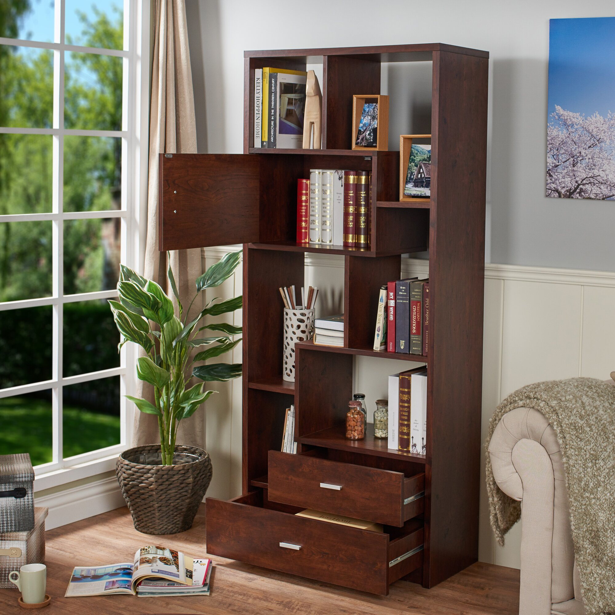 71 Quot Cube Unit Bookcase Amp Reviews Allmodern