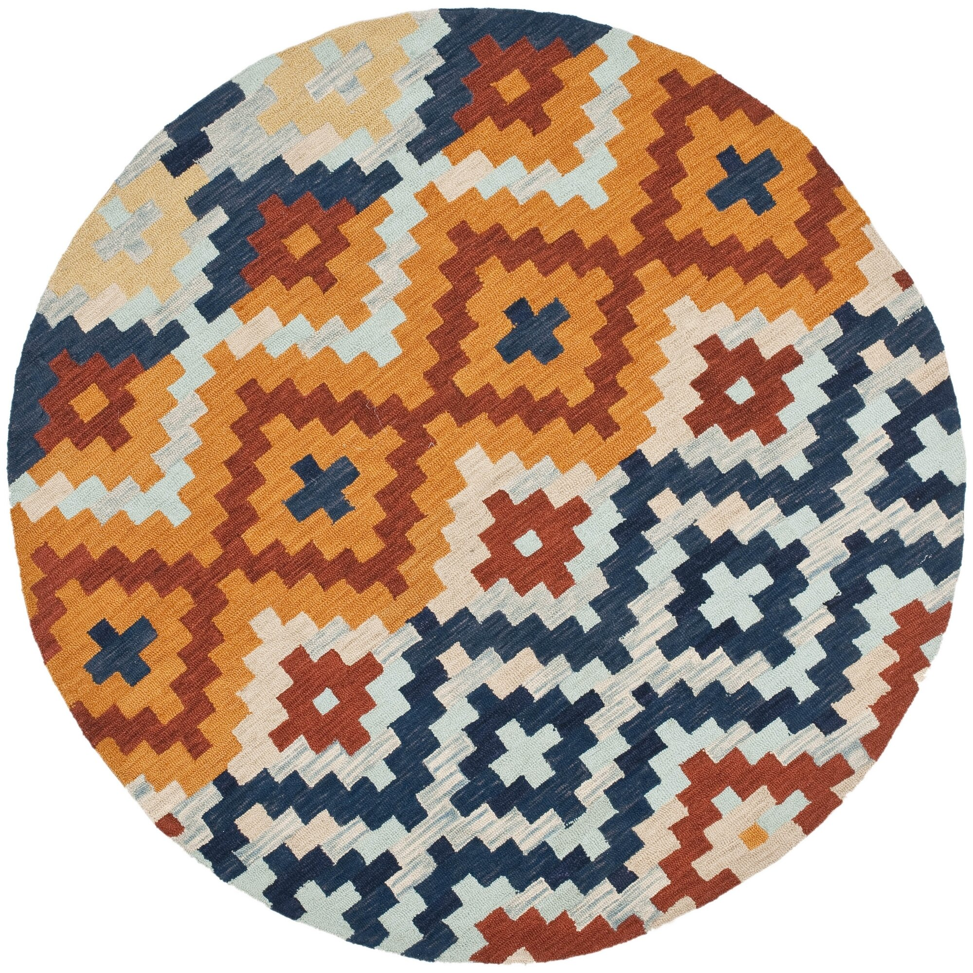 Checked Area Rugs: Pitkin Checked Area Rug & Reviews