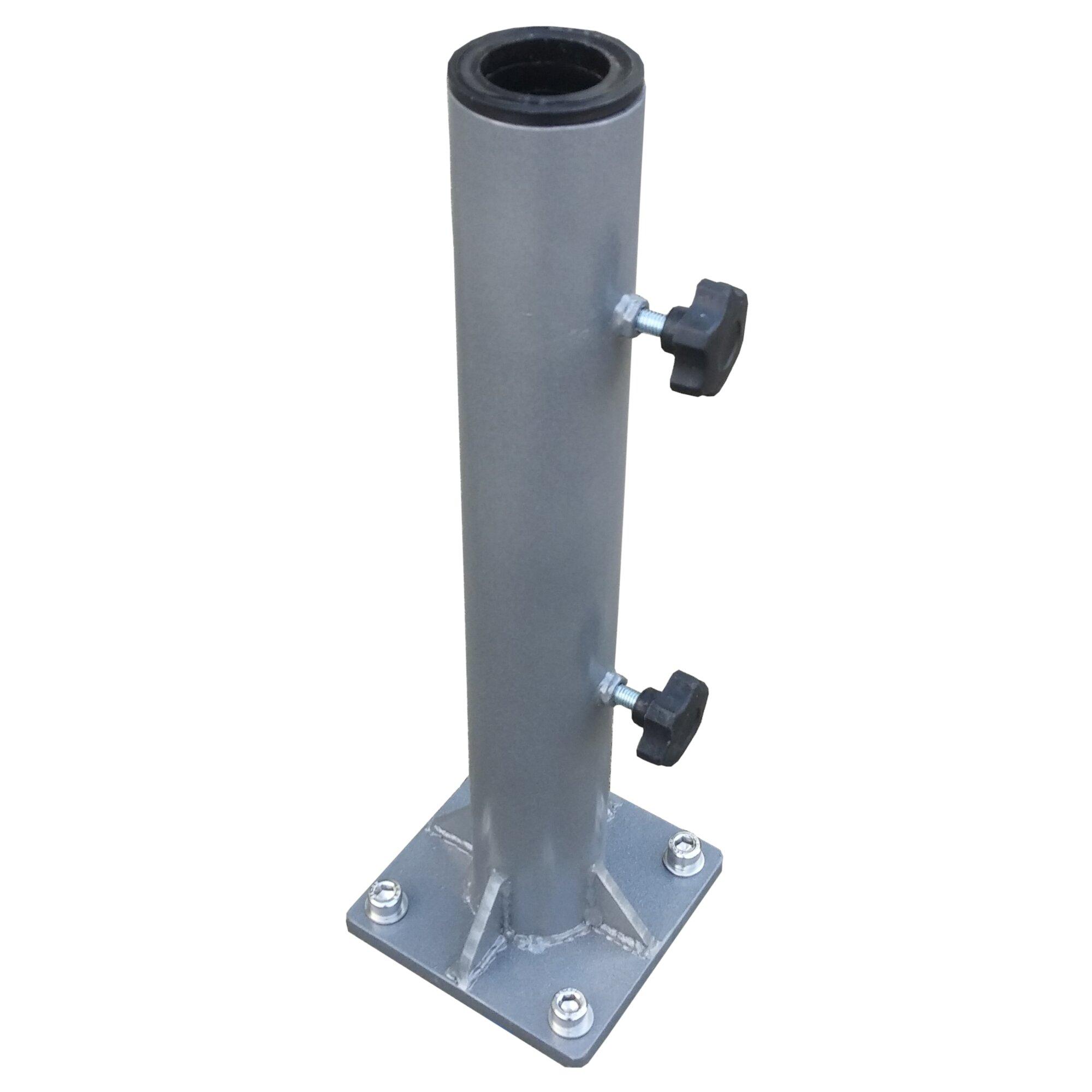Greencorner Steel Deck Mount Umbrella Base & Reviews | Wayfair