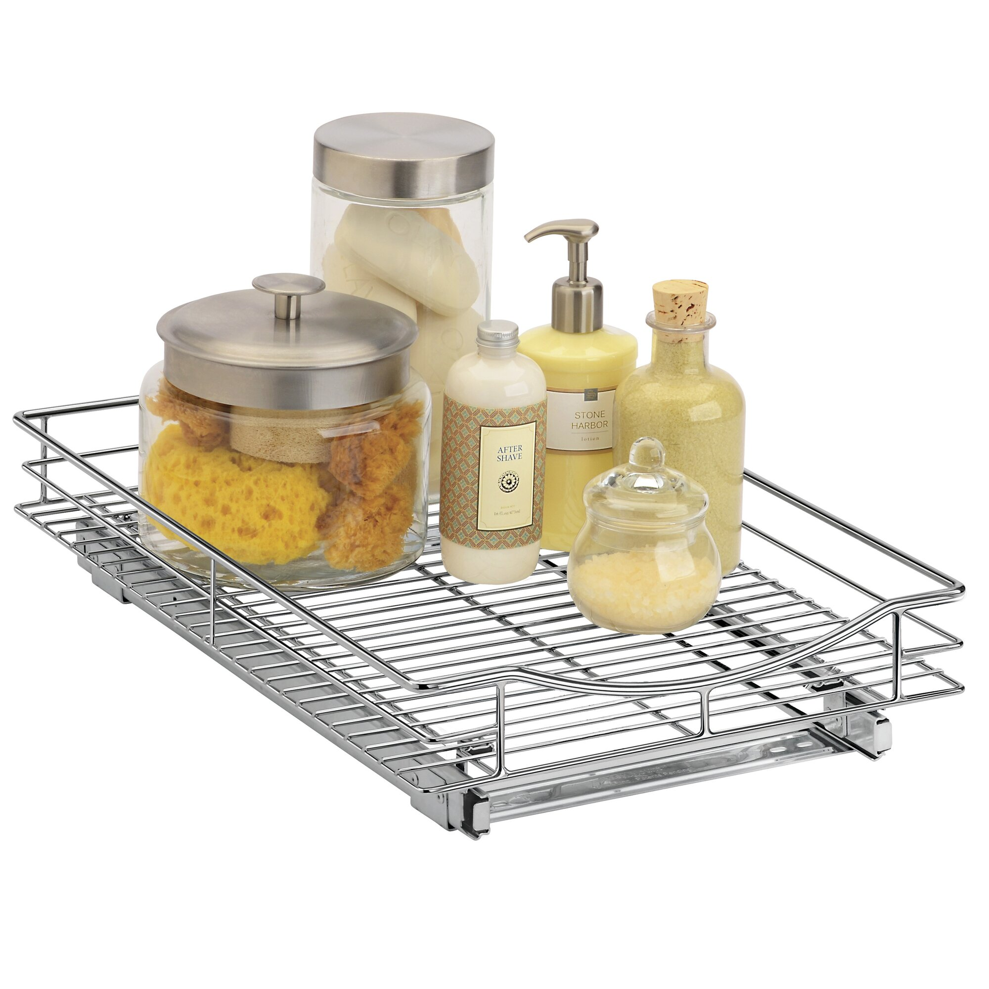 Lynk Roll Out Cabinet Organizer - Pull Out Drawer - Under Cabinet ...