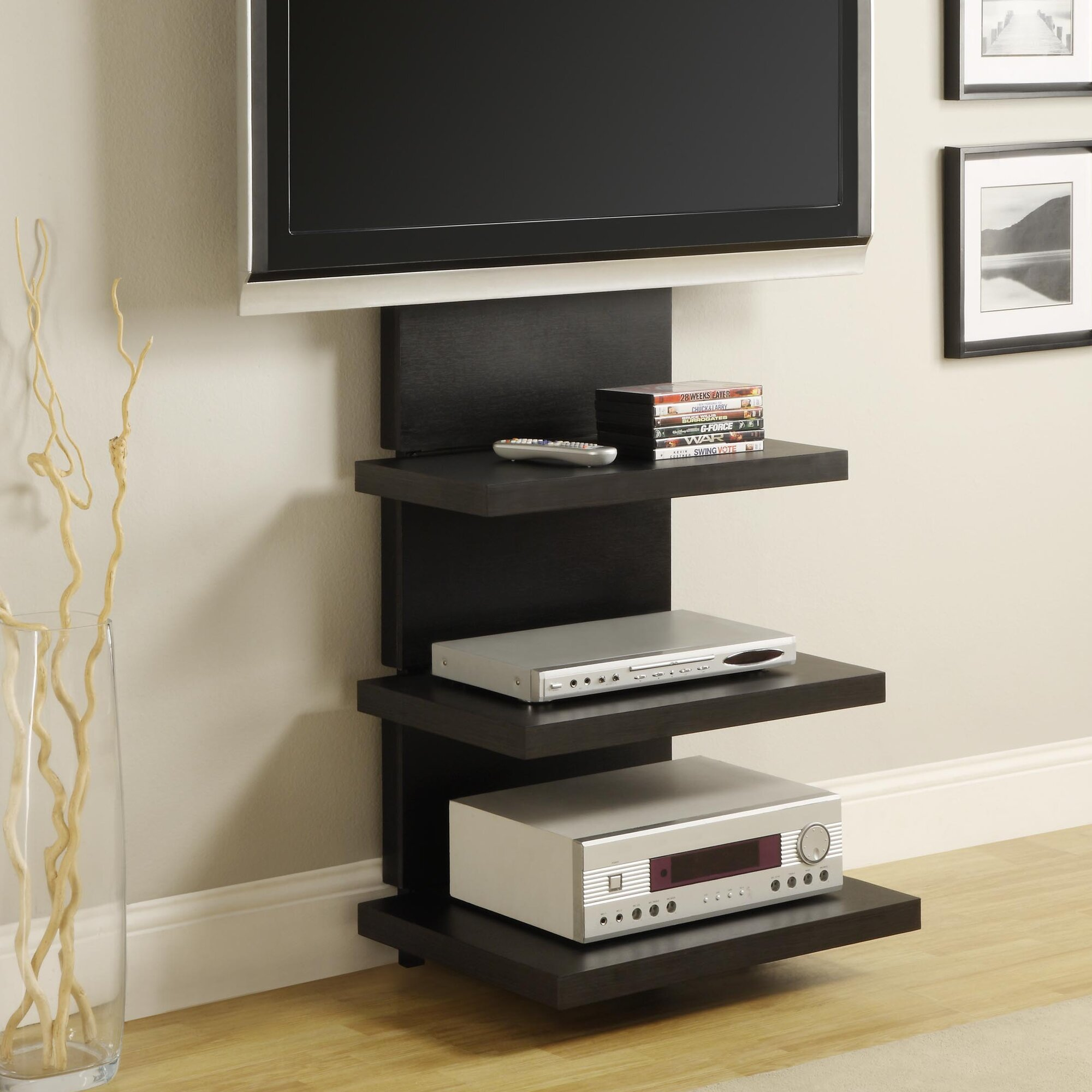 pole tv stand -  free standing tv pole photographs stylish ddnspexcelinfo