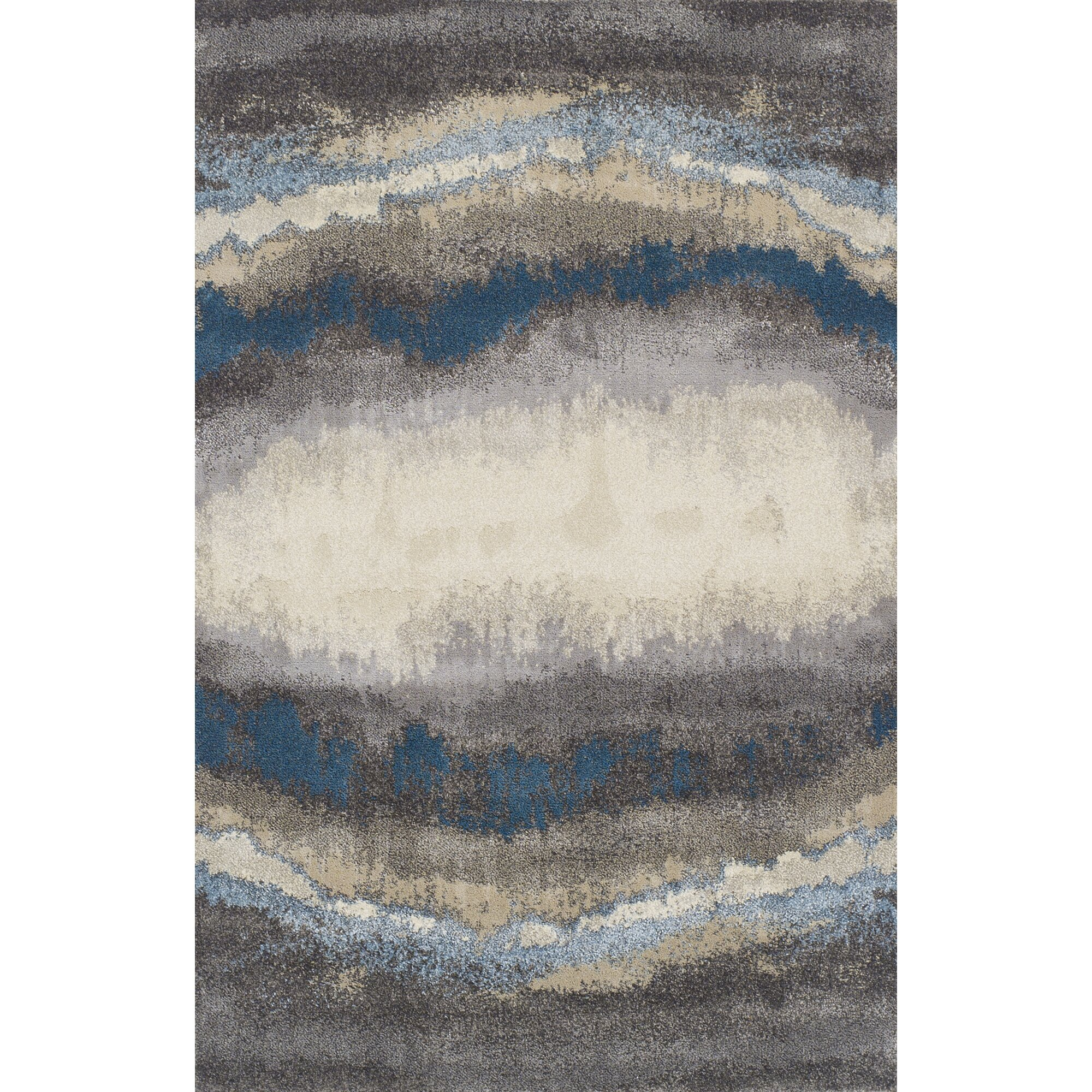 brook lane rugs teppich cassandra in blau grau. Black Bedroom Furniture Sets. Home Design Ideas