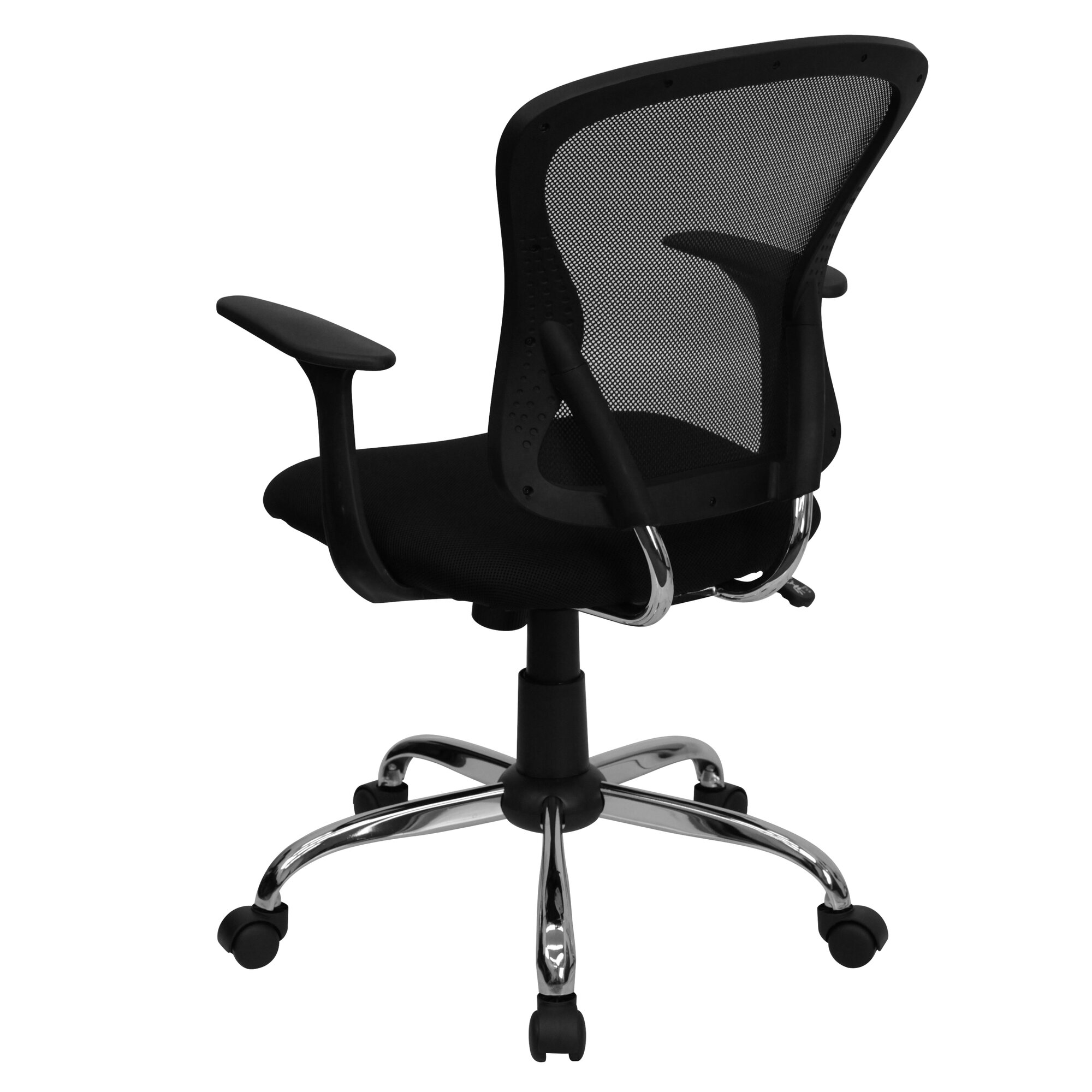 Symple Stuff Clay Mid Back Mesh Desk Chair & Reviews