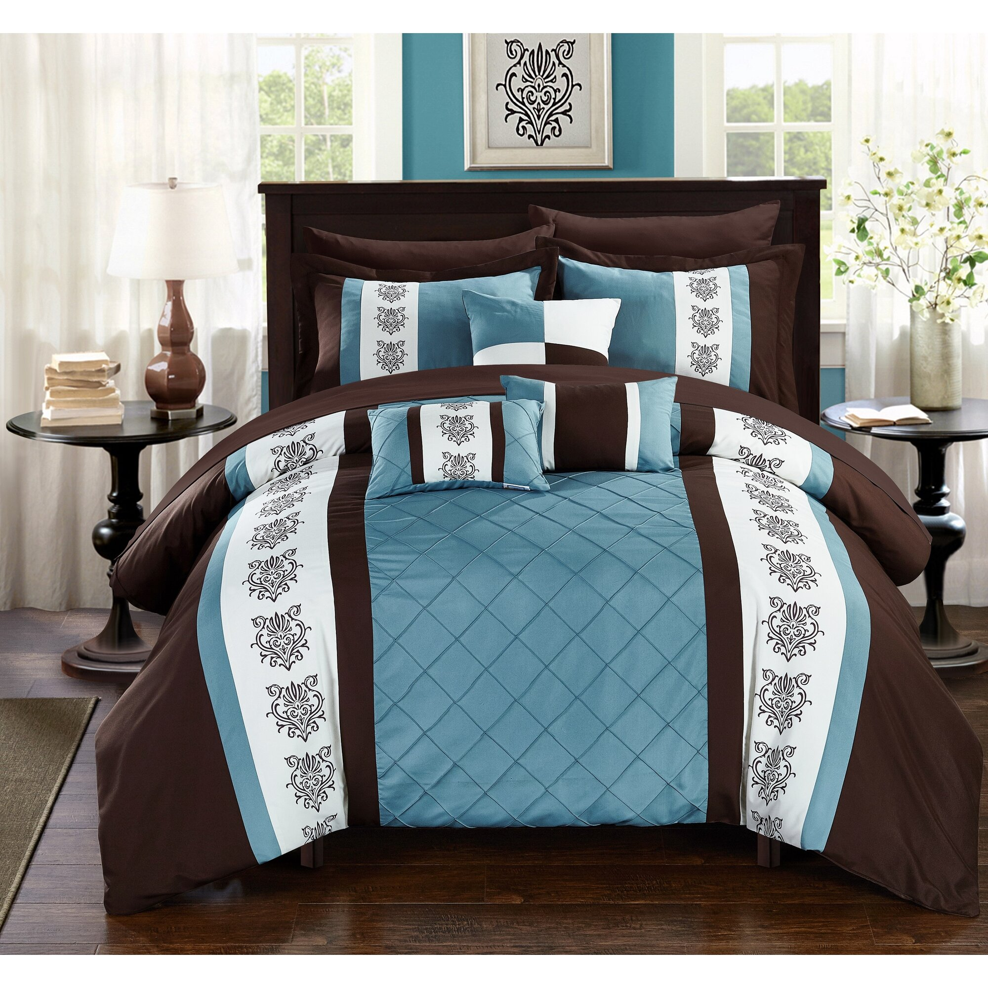 Check Prices Clayton 8 Piece Comforter Set by Chic Home ...
