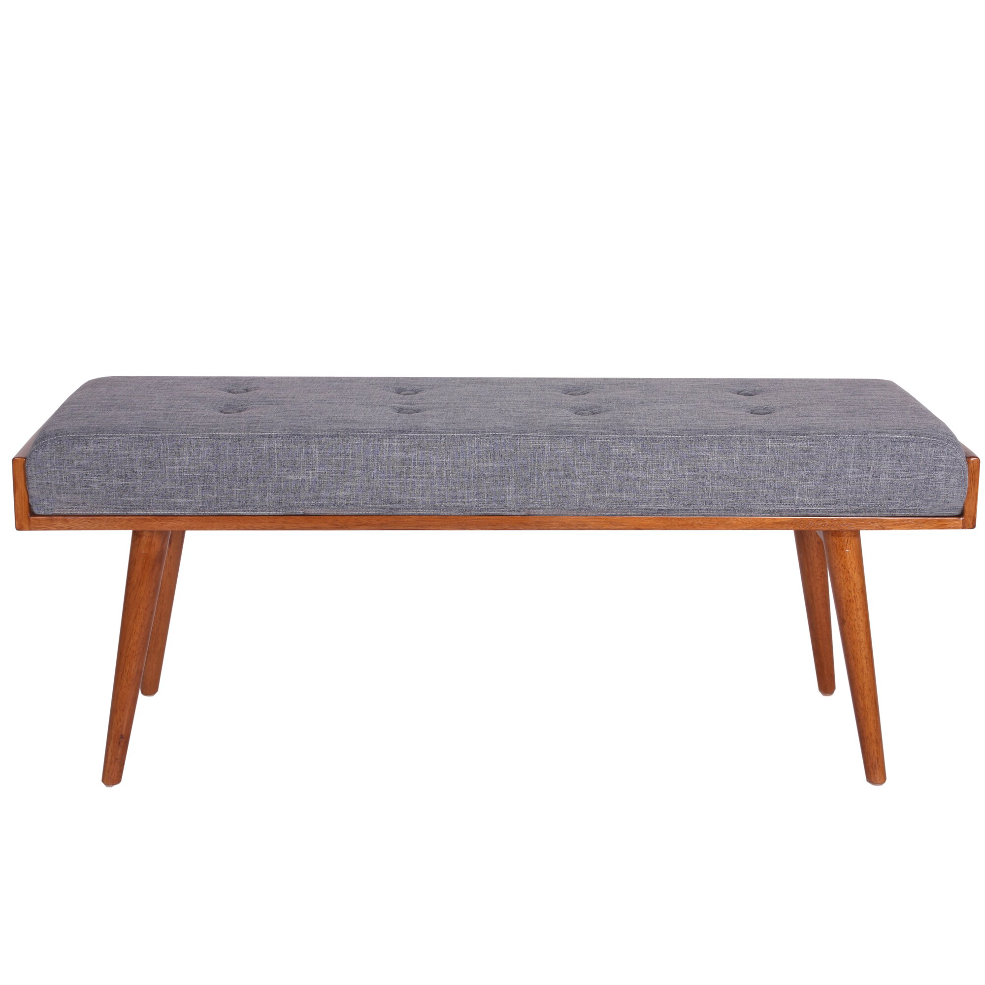 Bedroom bench dimensions - Aysel Upholstered Bedroom Bench