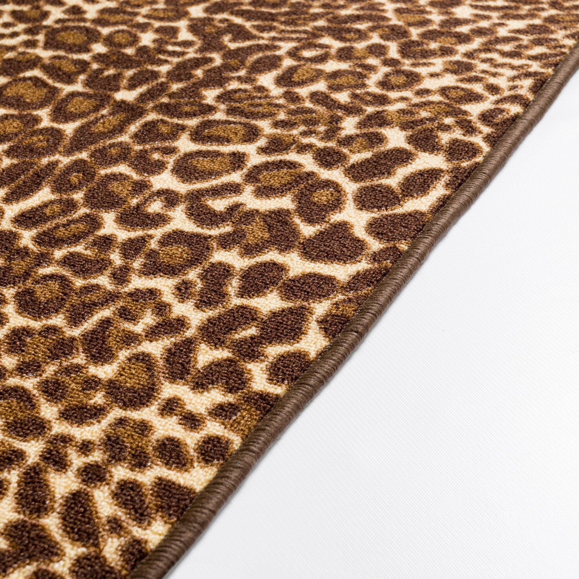 Leopard Print Rug In Dining Room: Well Woven Kings Court Gold Leopard Print Area Rug