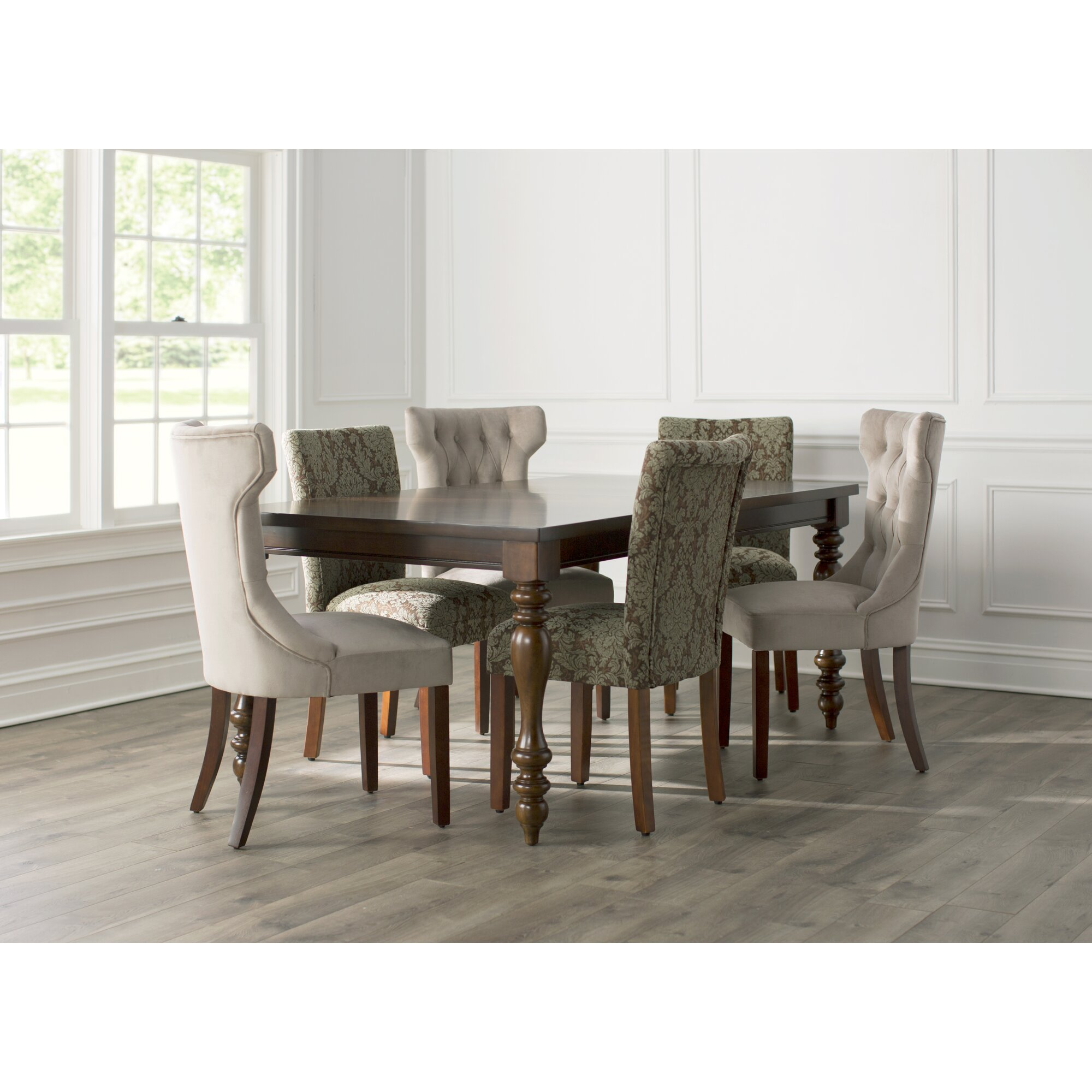 Three Posts™ Lanesboro Extendable Dining Table & Reviews | Wayfair