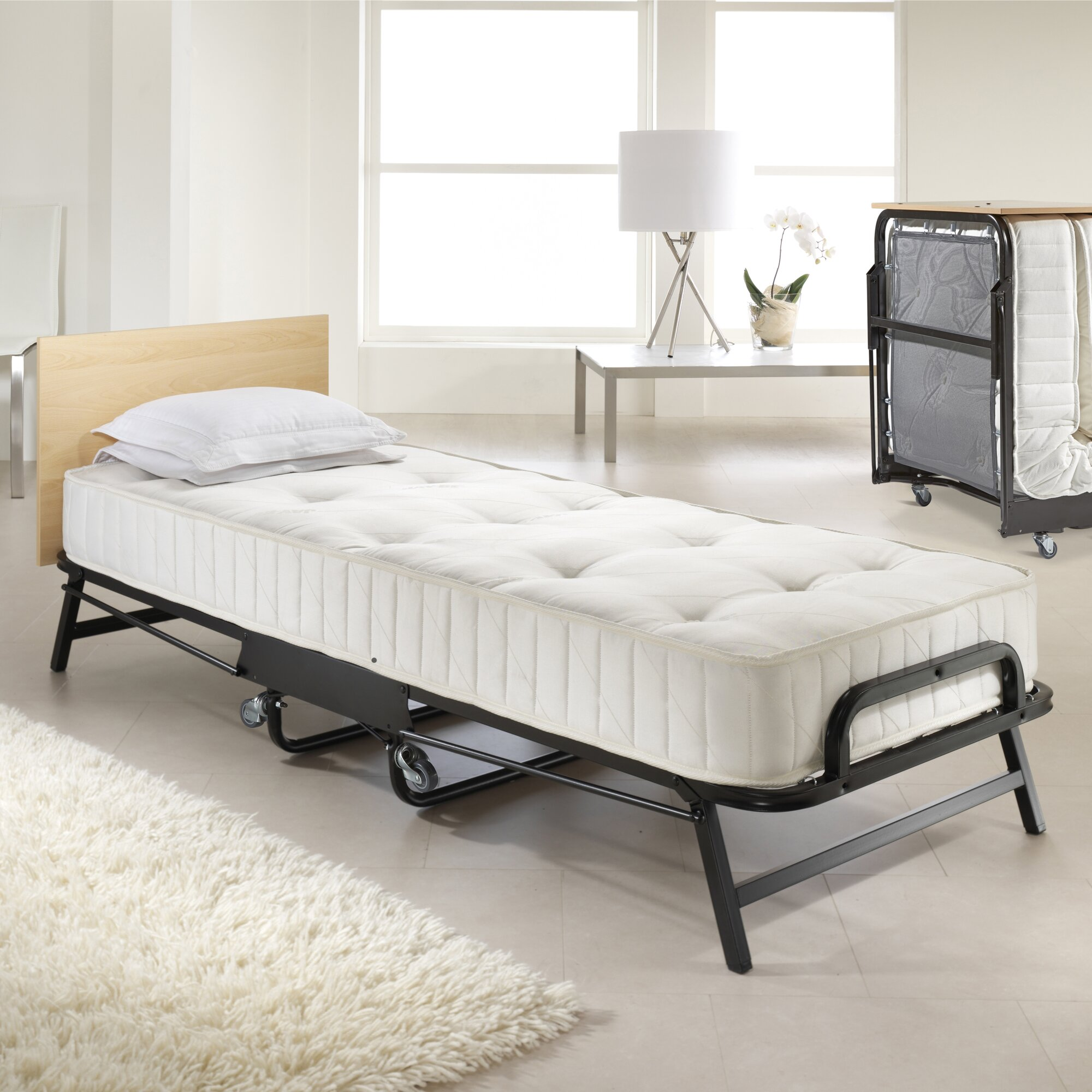 Folding Beds Reviews : Jay be crown premier folding bed reviews wayfair