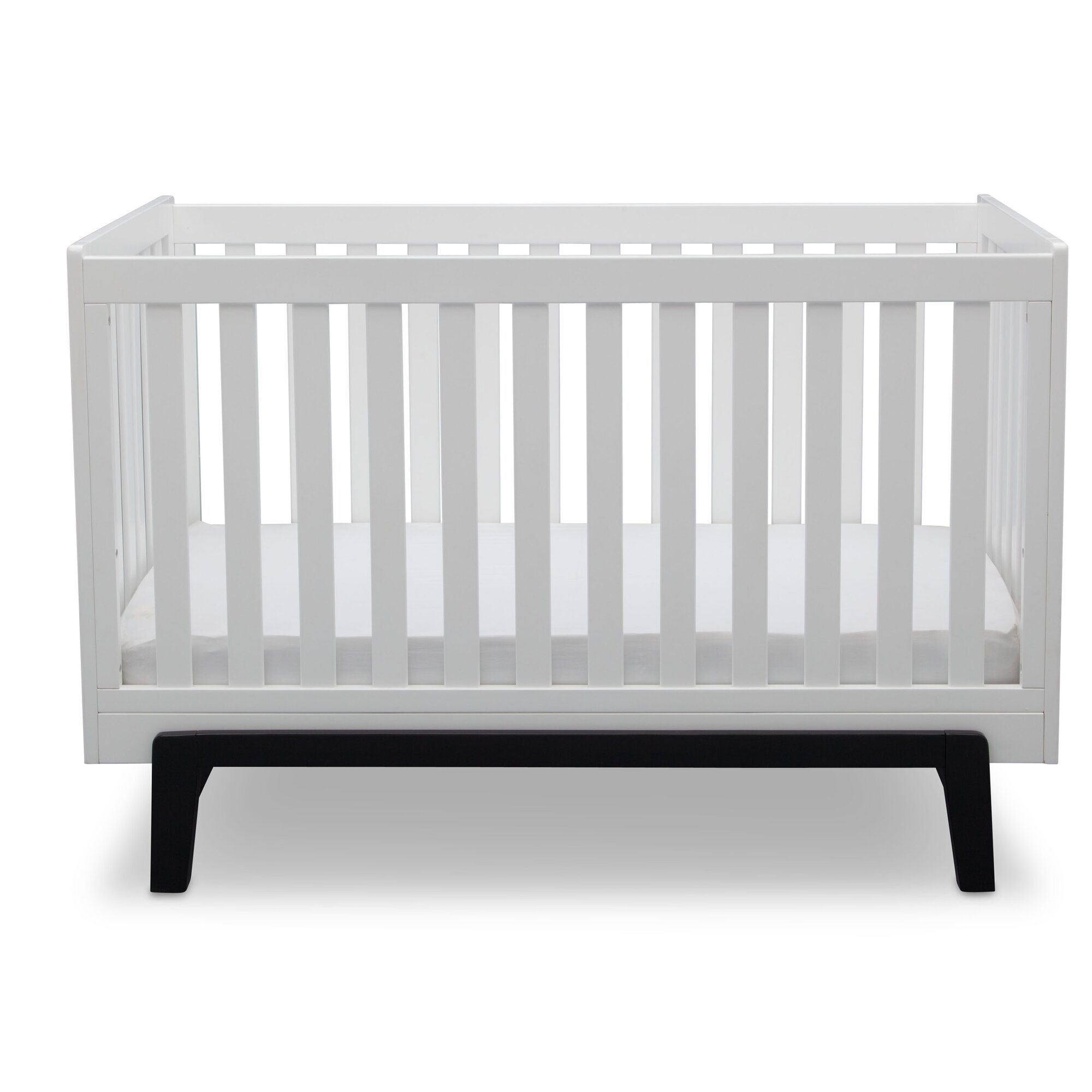 crib modern  high end baby furniture finds rustic modern crib  - white modern crib