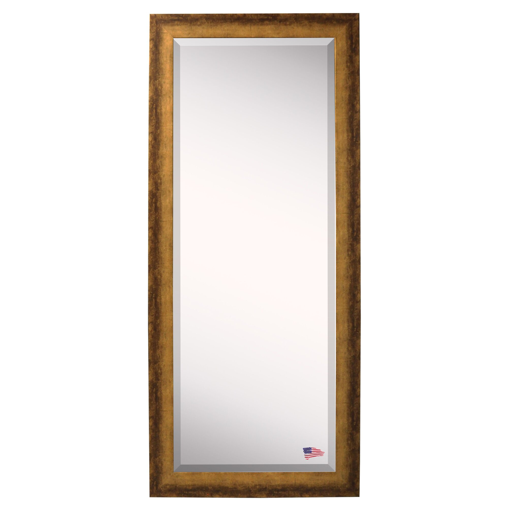 Extra tall floor mirror reviews birch lane for Tall glass mirror