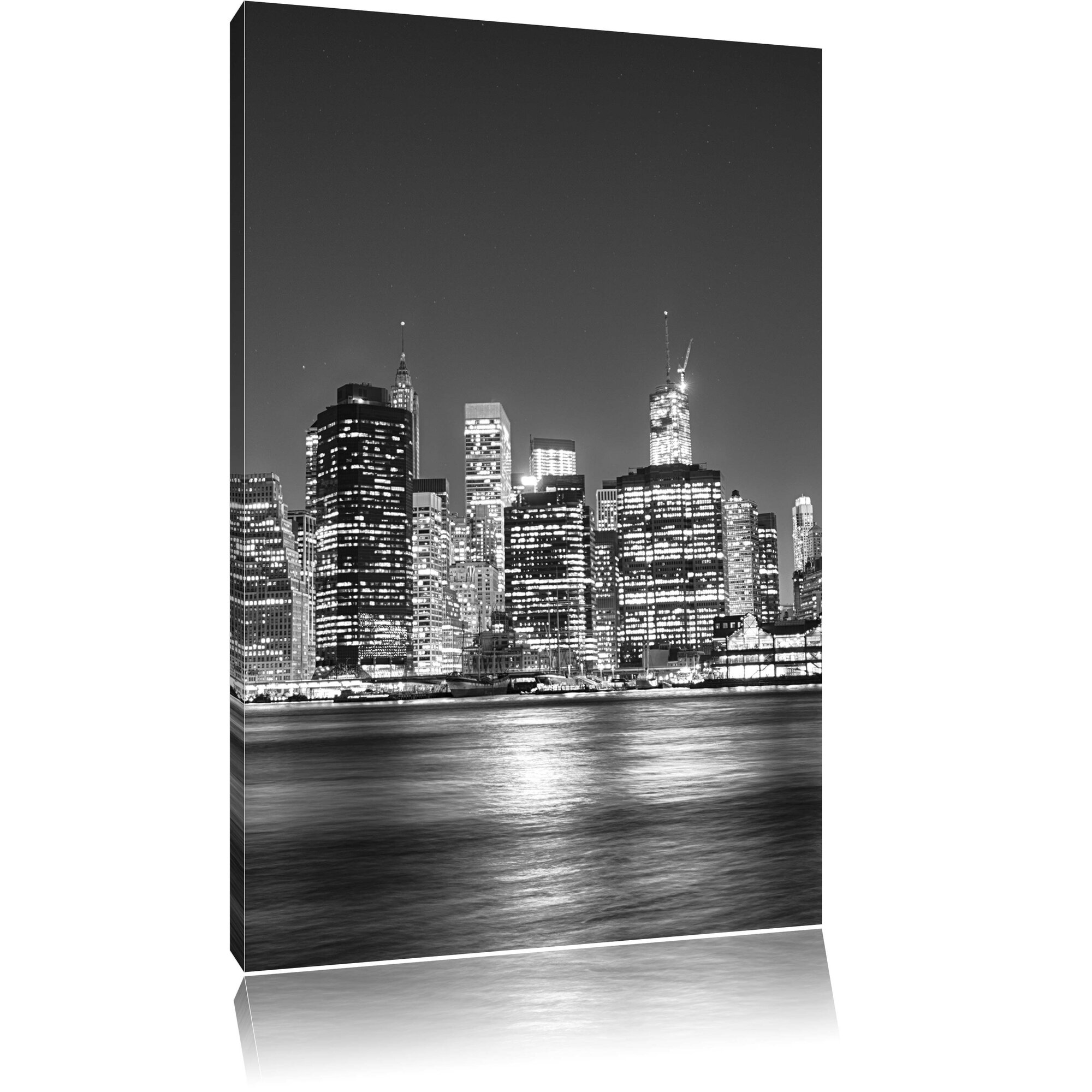 pixxprint leinwandbild new york city fotodruck. Black Bedroom Furniture Sets. Home Design Ideas
