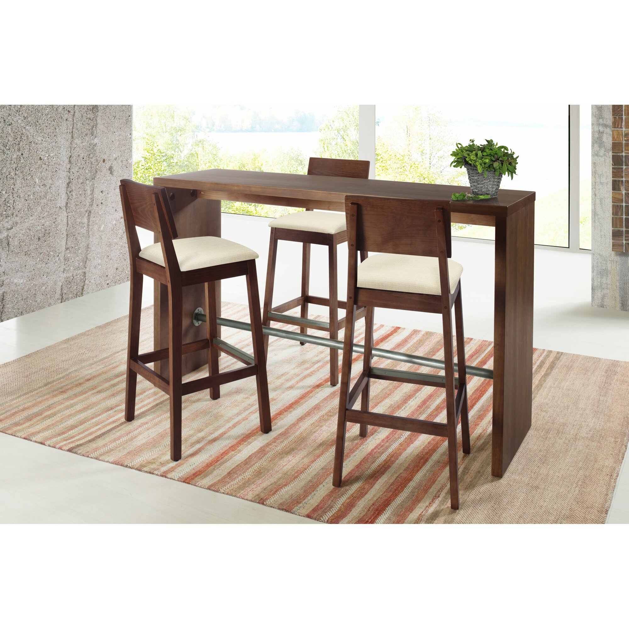 Artefama Gourmet Counter Height Pub Table & Reviews